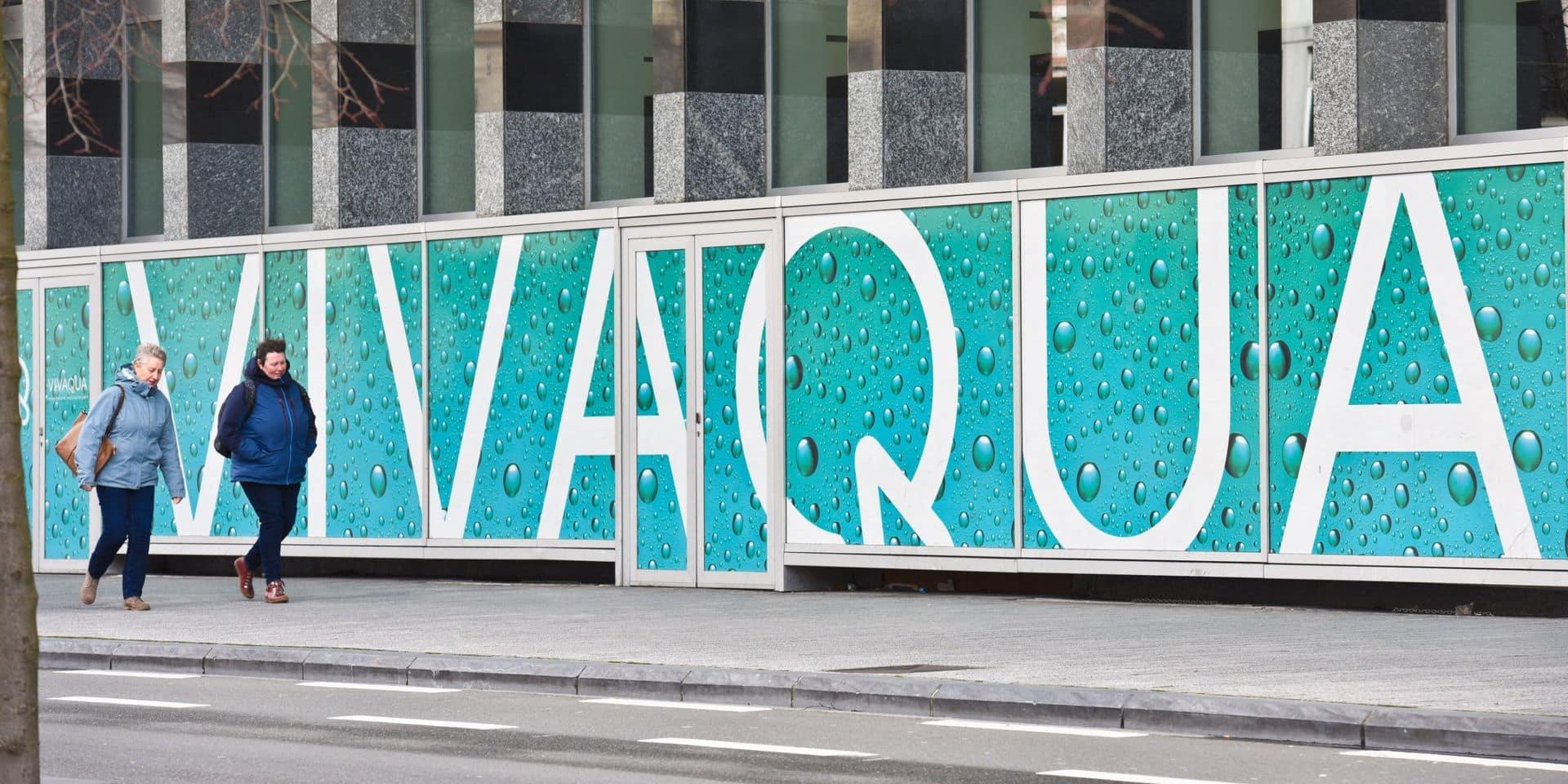 Polémique chez Vivaqua : la hausse du prix de l'eau est suspendue