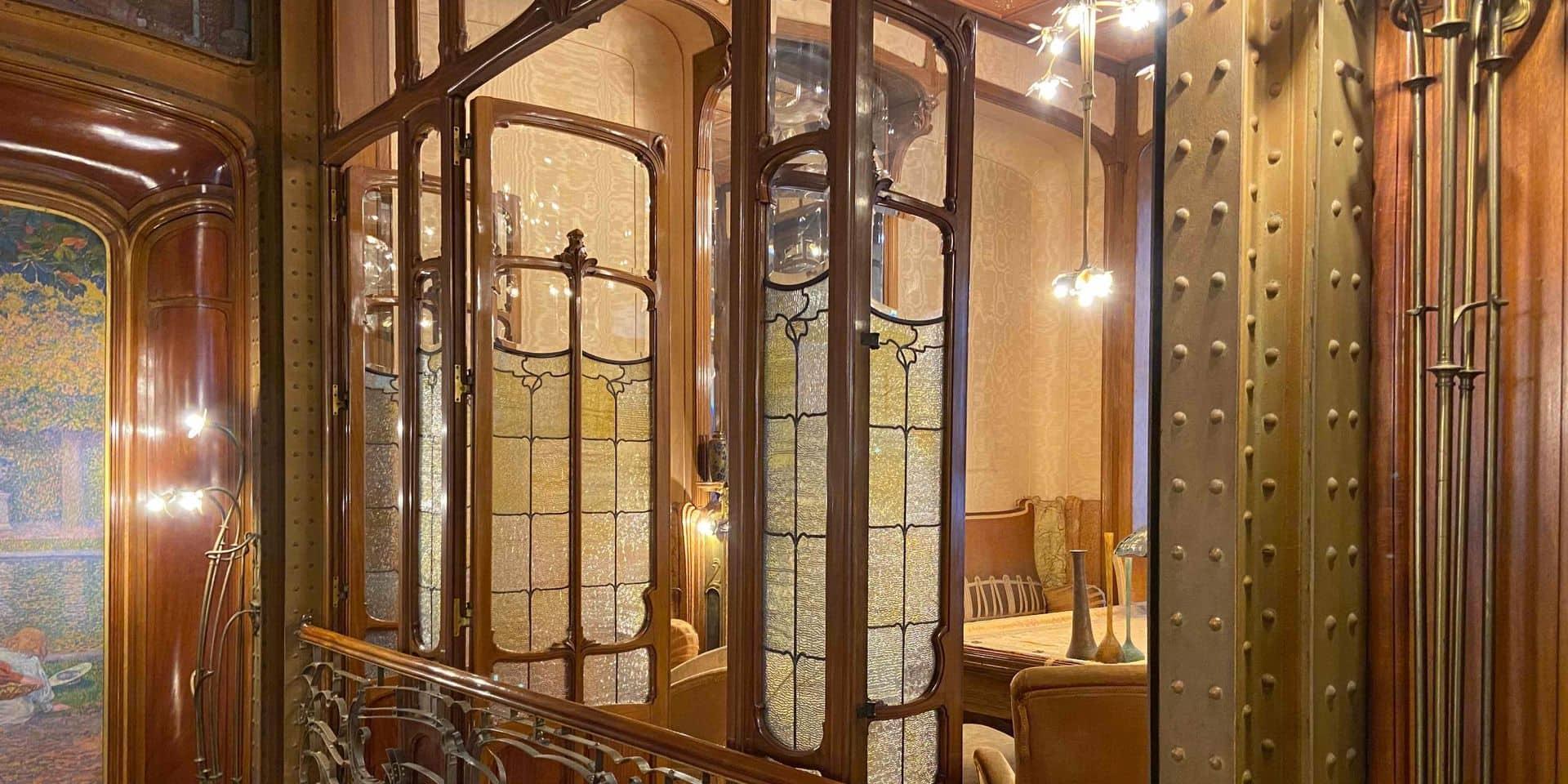 L'Hôtel Solvay, chef-d'oeuvre d'Horta, s'ouvre au public