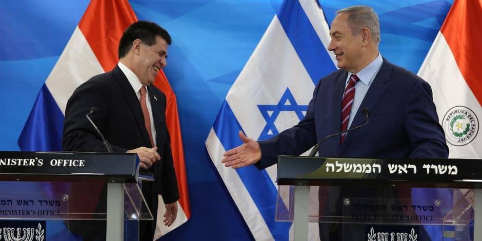 L'ambassade du Paraguay en Israël retrouve Tel-Aviv — Tempête diplomatique