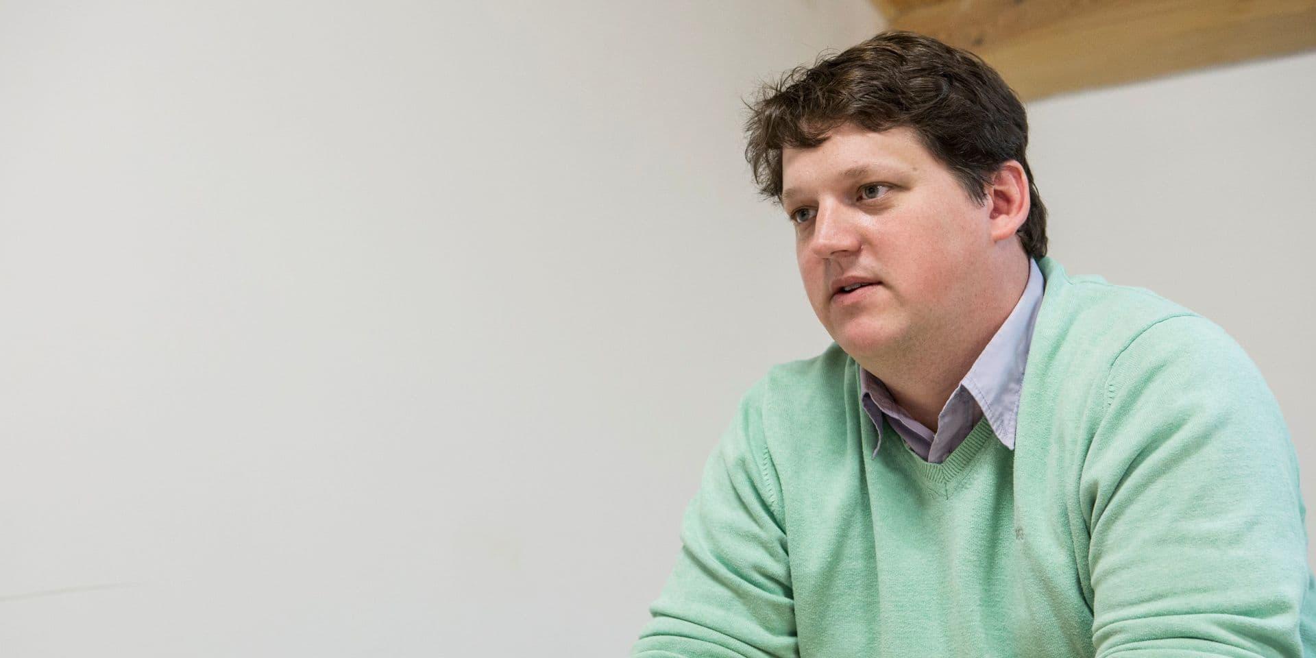 """Fabien Pinckaers (Odoo): """"Depuis une semaine, nos 700 employés travaillent de chez eux et la collaboration est très bonne"""""""