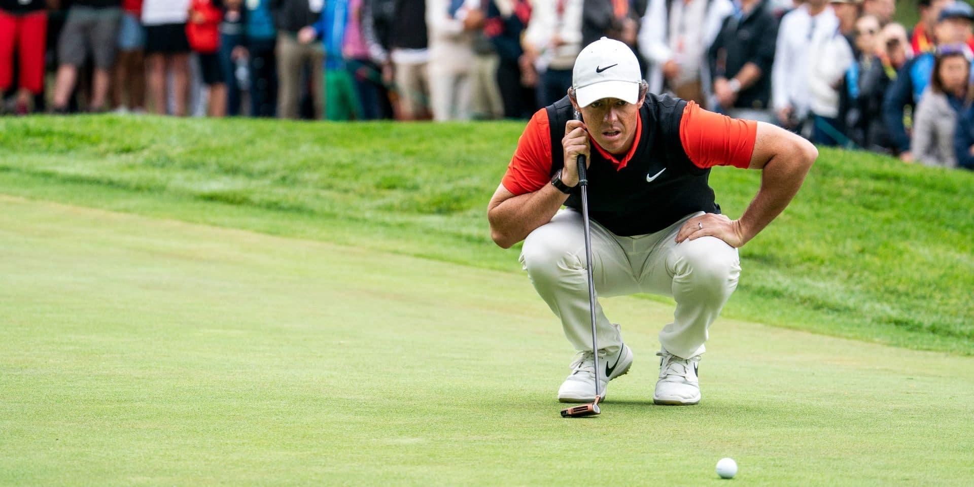 Golf: Rory McIlroy joueur de l'année sur le circuit américain PGA pour la troisième fois