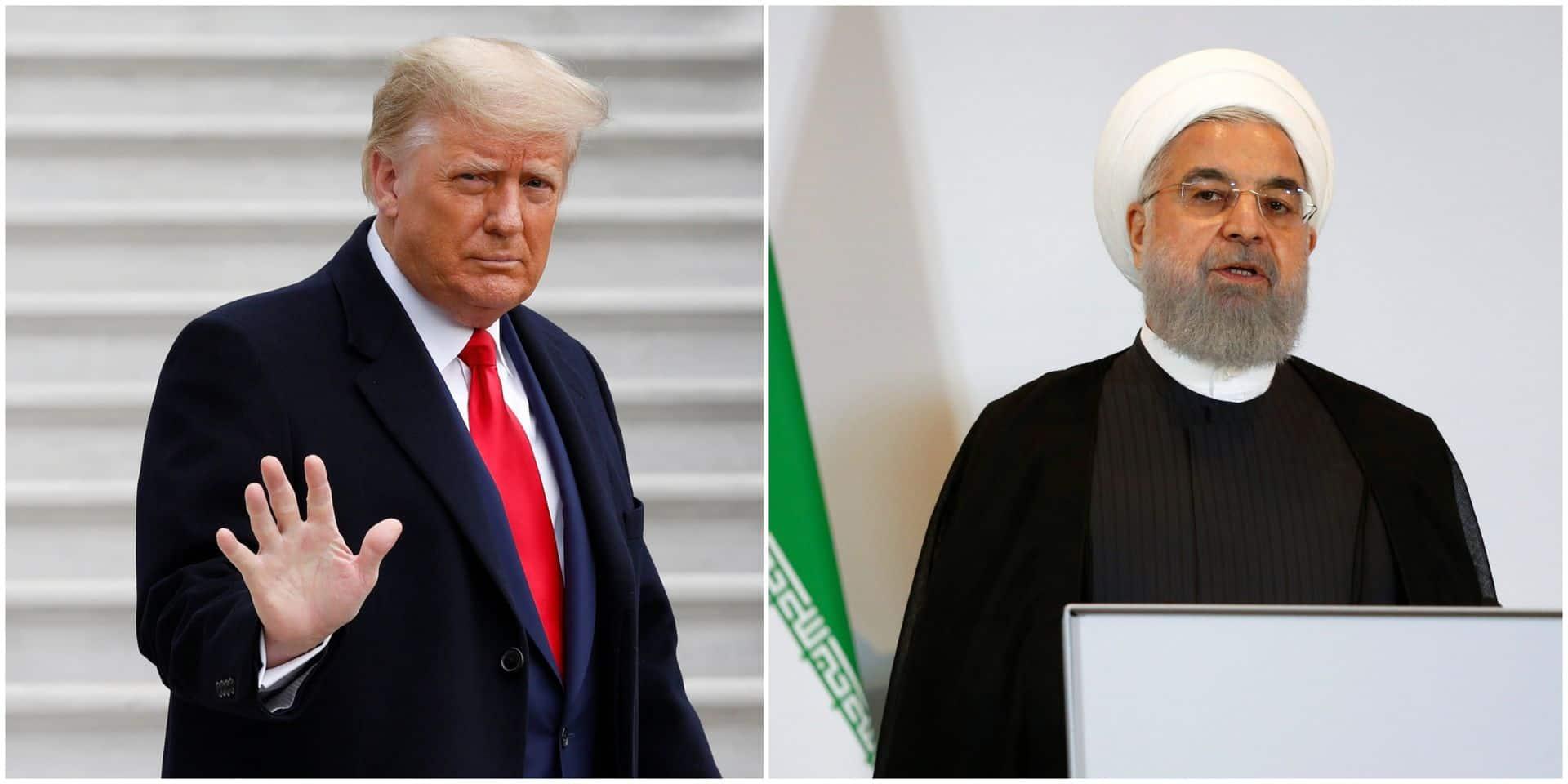 """Iran: le président Rohani se dit """"très heureux"""" du départ de Donald Trump"""