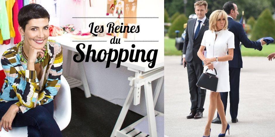 """Le beau compliment de Cristina Cordula à Brigitte Macron dans les """"Reines du shopping"""""""