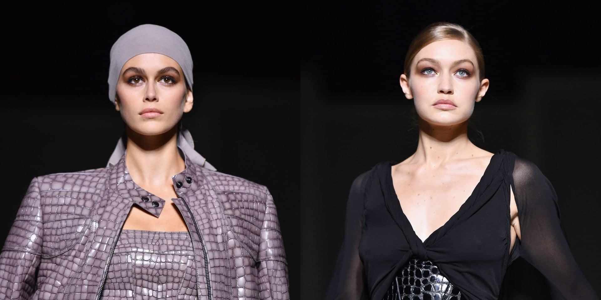 Gigi Hadid et Kaia Gerber ouvrent la Fashion Week avec classe