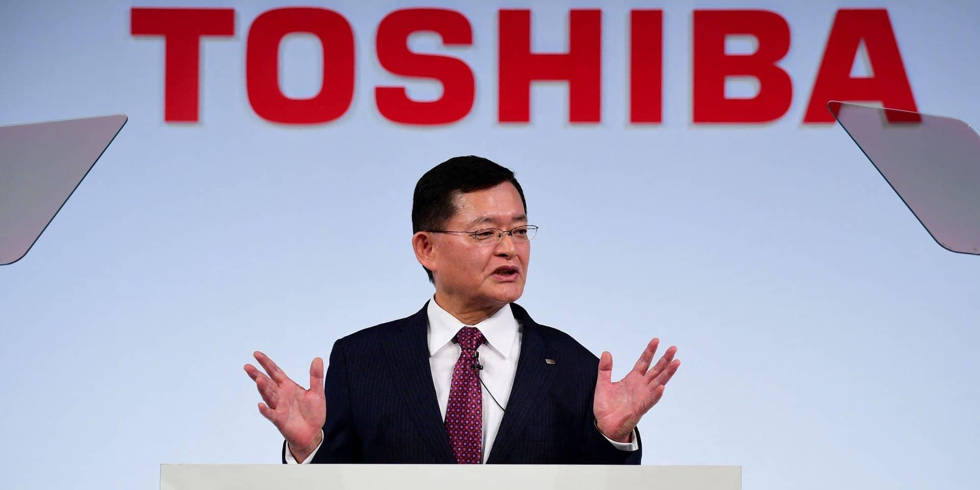 Le directeur général de Toshiba démissionne