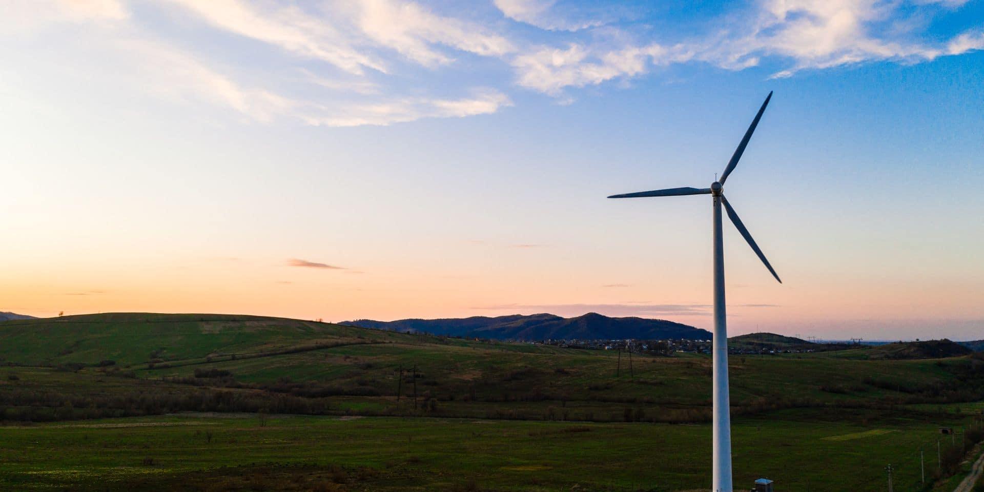 Permis de construire accordé pour la plus haute éolienne de Belgique
