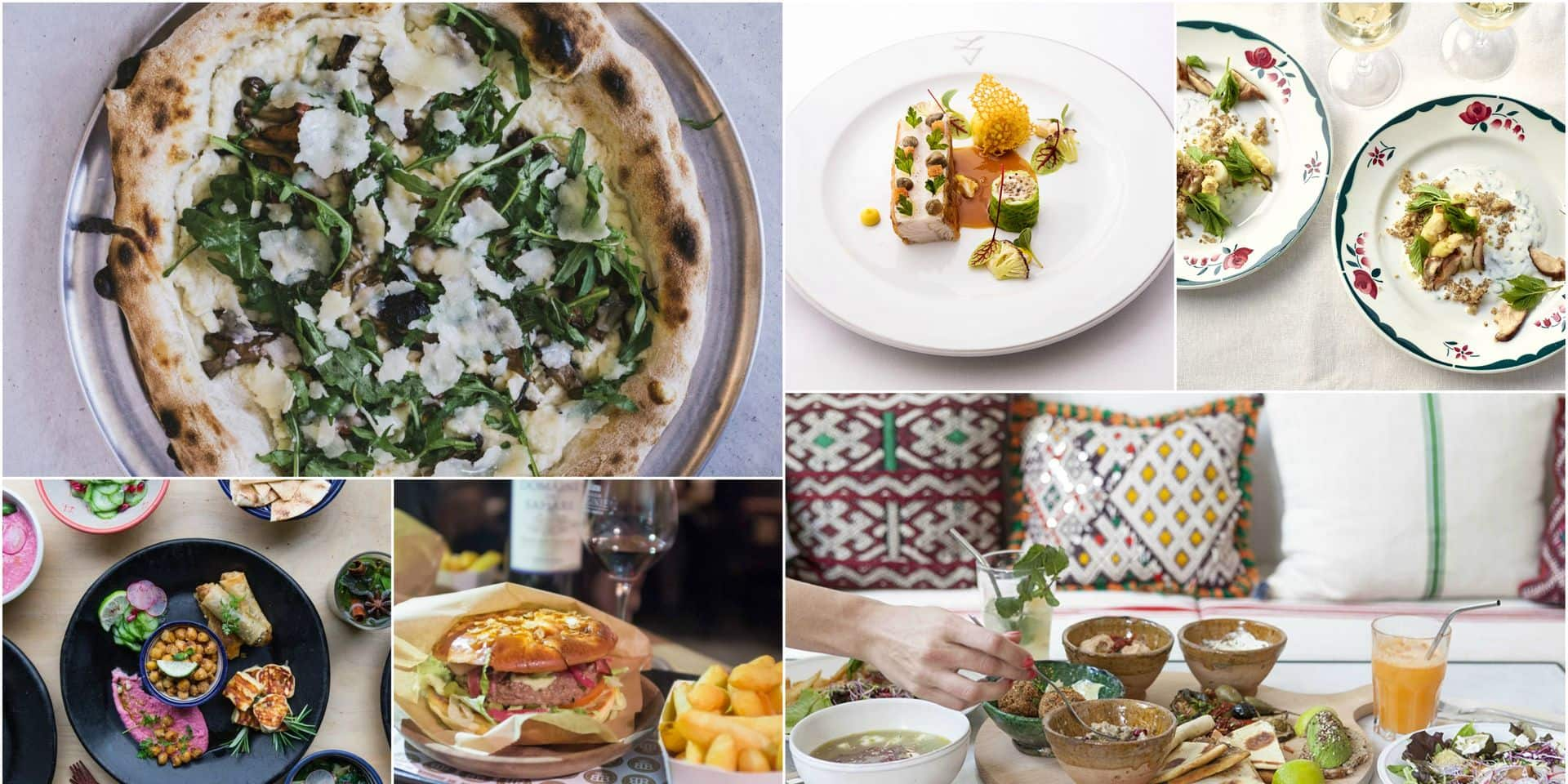 Les 20 nouveaux restaurants trendy à (re)découvrir