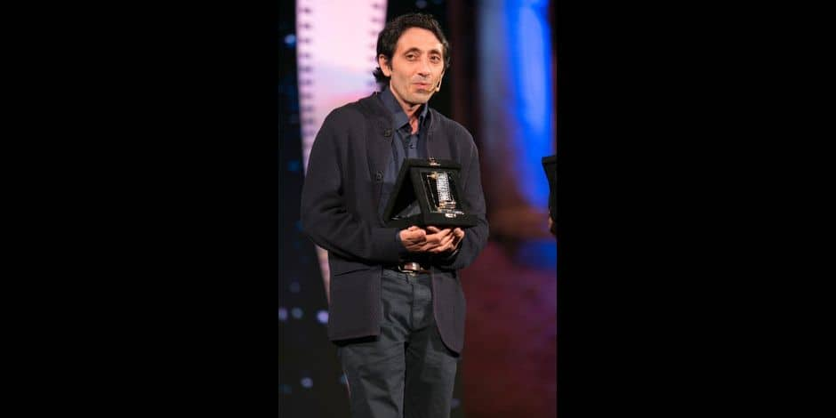 Nastri d'argento in Taormina. Film awards awarded in Taormina by the journalists' union. 30 Jun 2018 Pictured: Marcello Fonte. Photo credit: Fabio Caia / MEGA TheMegaAgency.com +1 888 505 6342 Reporters / Mega *** Local Caption *** MEGA247633_042
