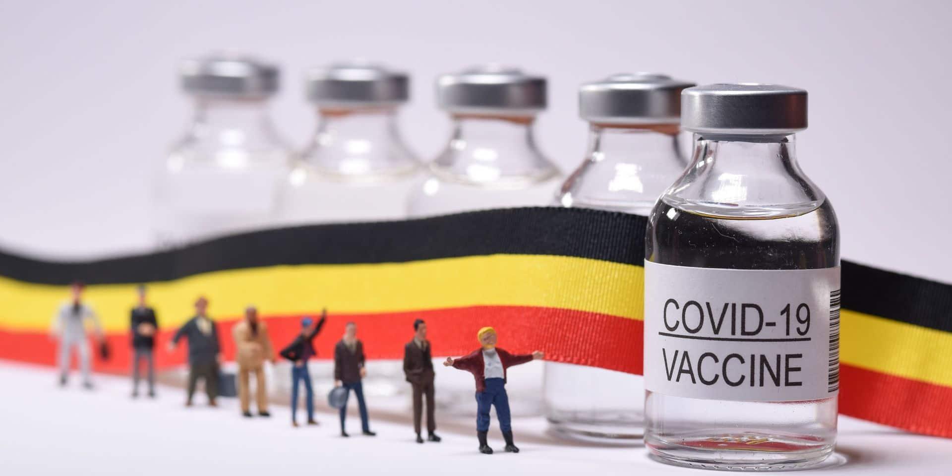 La Belgique atteindra ce mardi le cap des 2 millions de personnes vaccinées