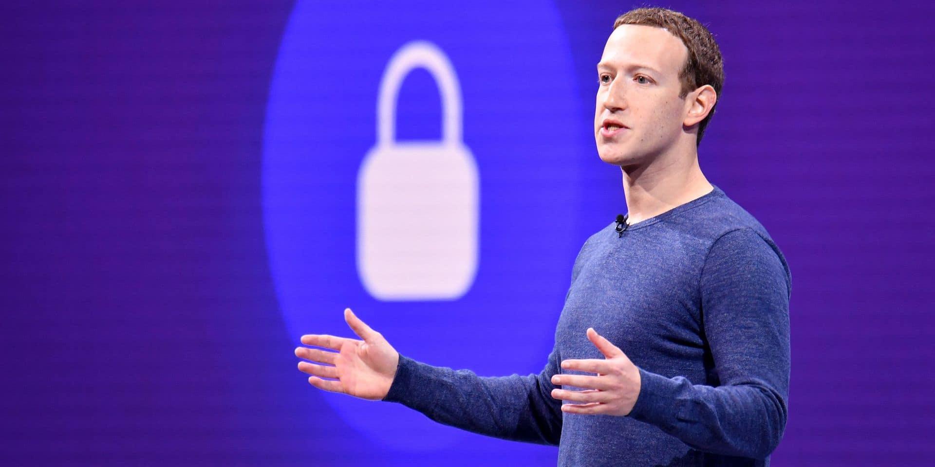 Facebook écope d'une amende de 5 milliards de dollars