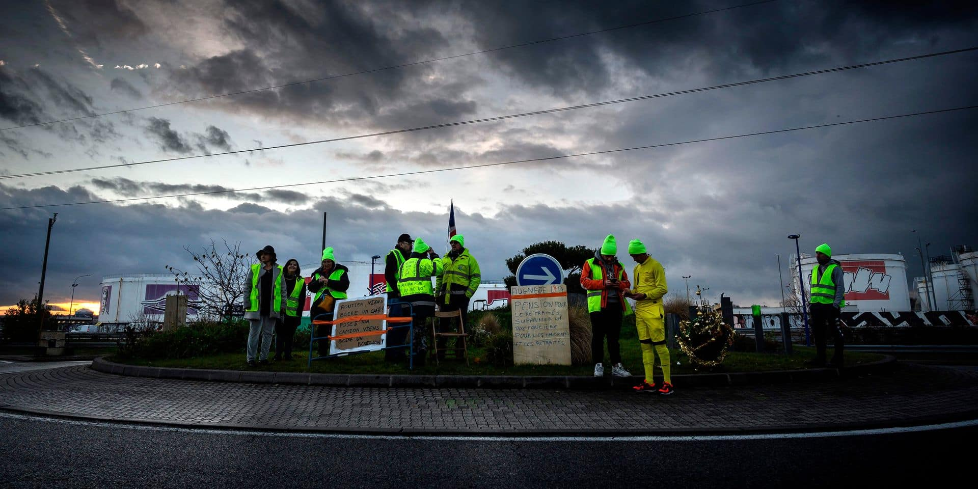 """Un """"gilet jaune"""" a perdu la vie ce matin renversé par un camion"""