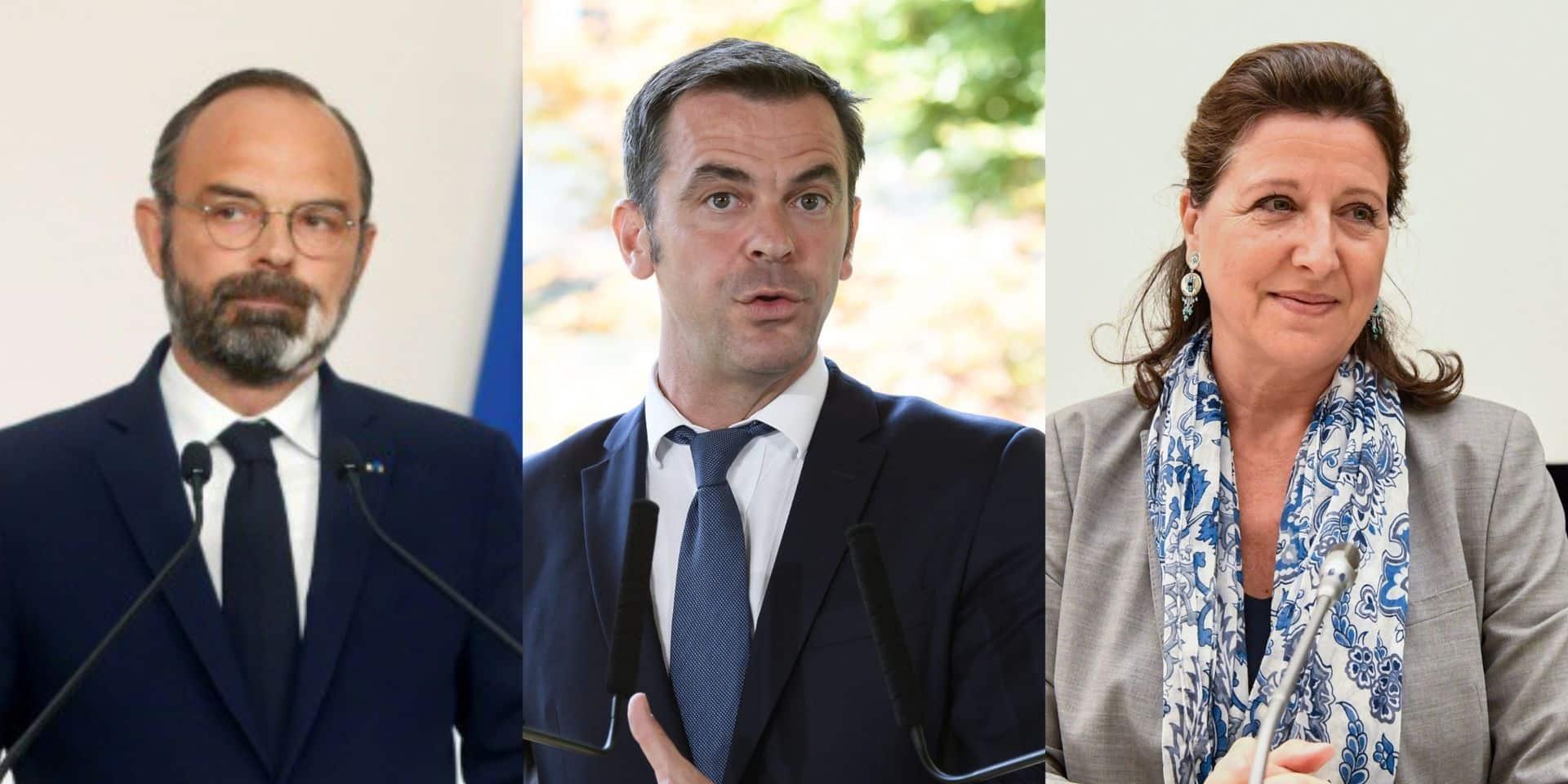 Covid-19 en France : une enquête judiciaire sera ouverte contre Philippe, Véran et Buzyn