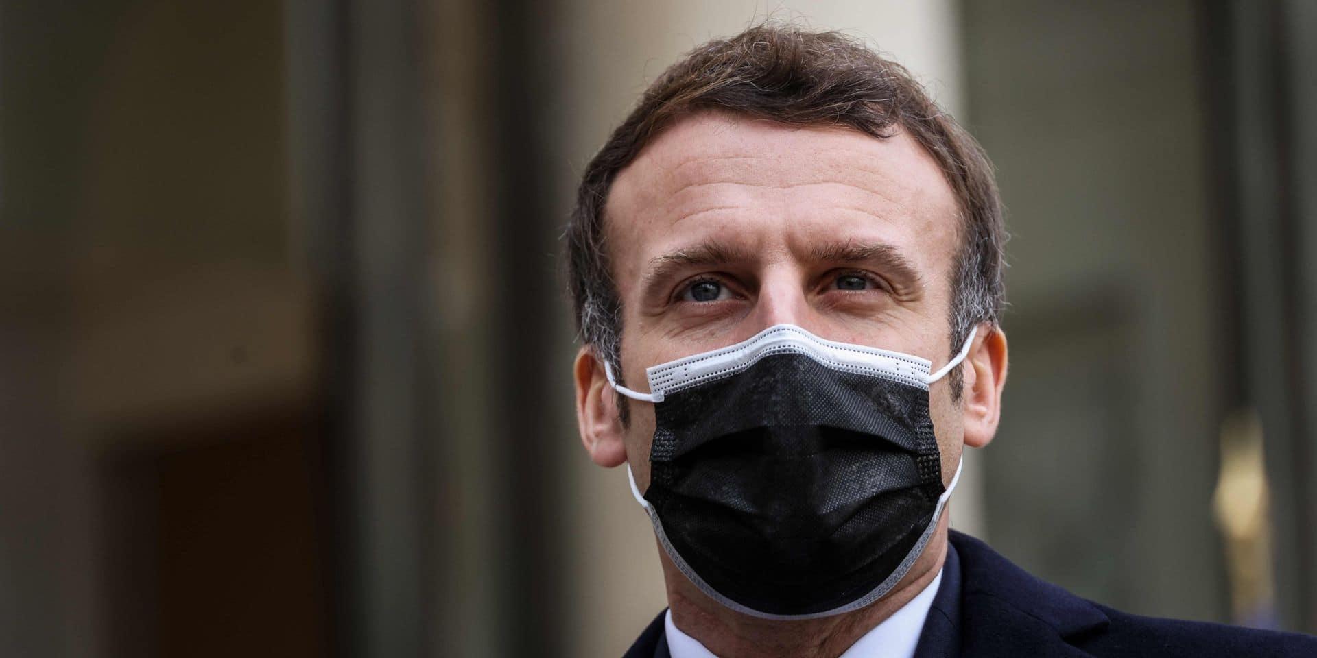 Emmanuel Macron testé positif au coronarivus