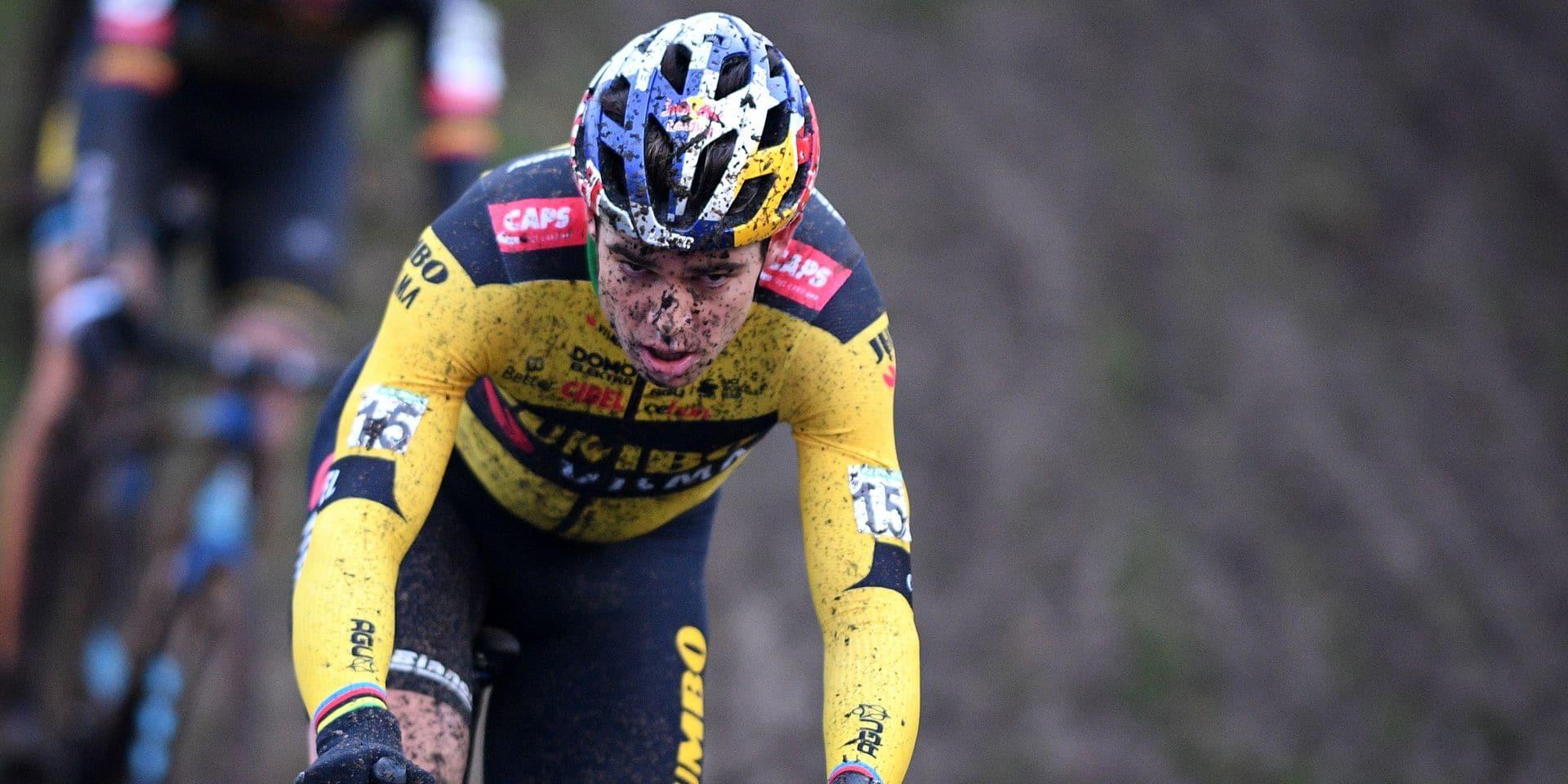"""Pourquoi Wout Van Aert a du mal pour sa rentrée en cyclo-cross: """"Plus on reste éloigné, plus on revient difficilement"""""""