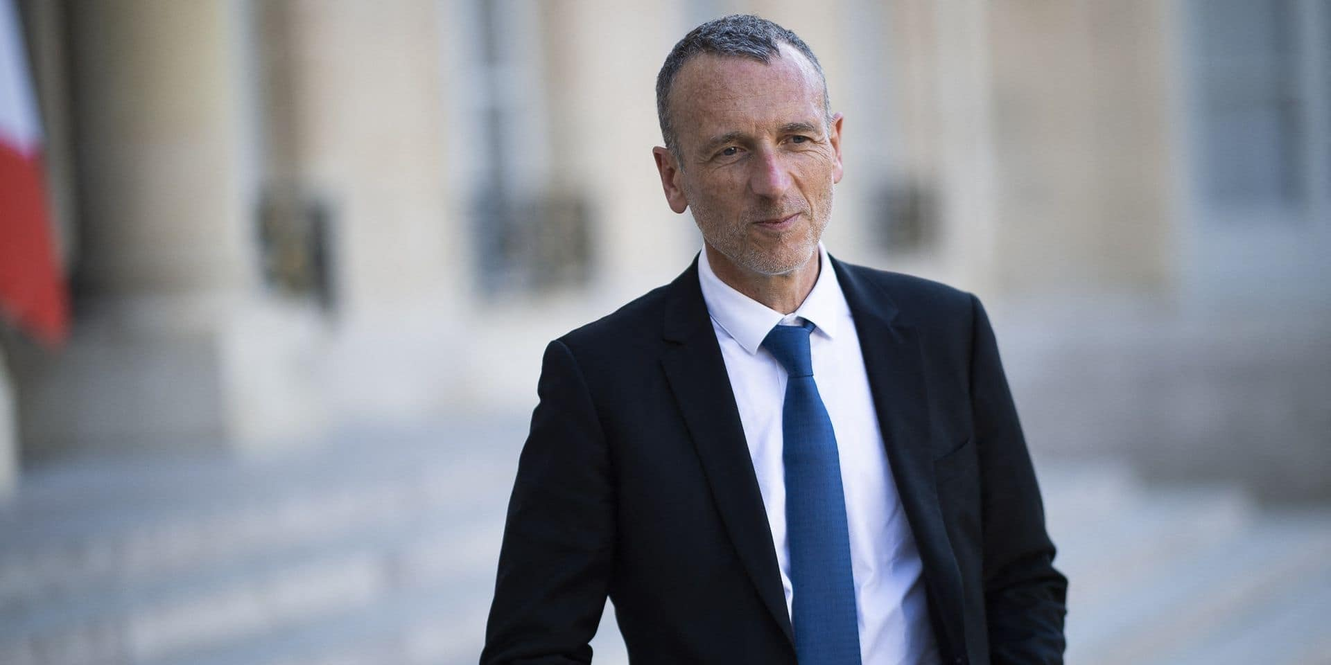 Le PDG de Danone Emmanuel Faber.