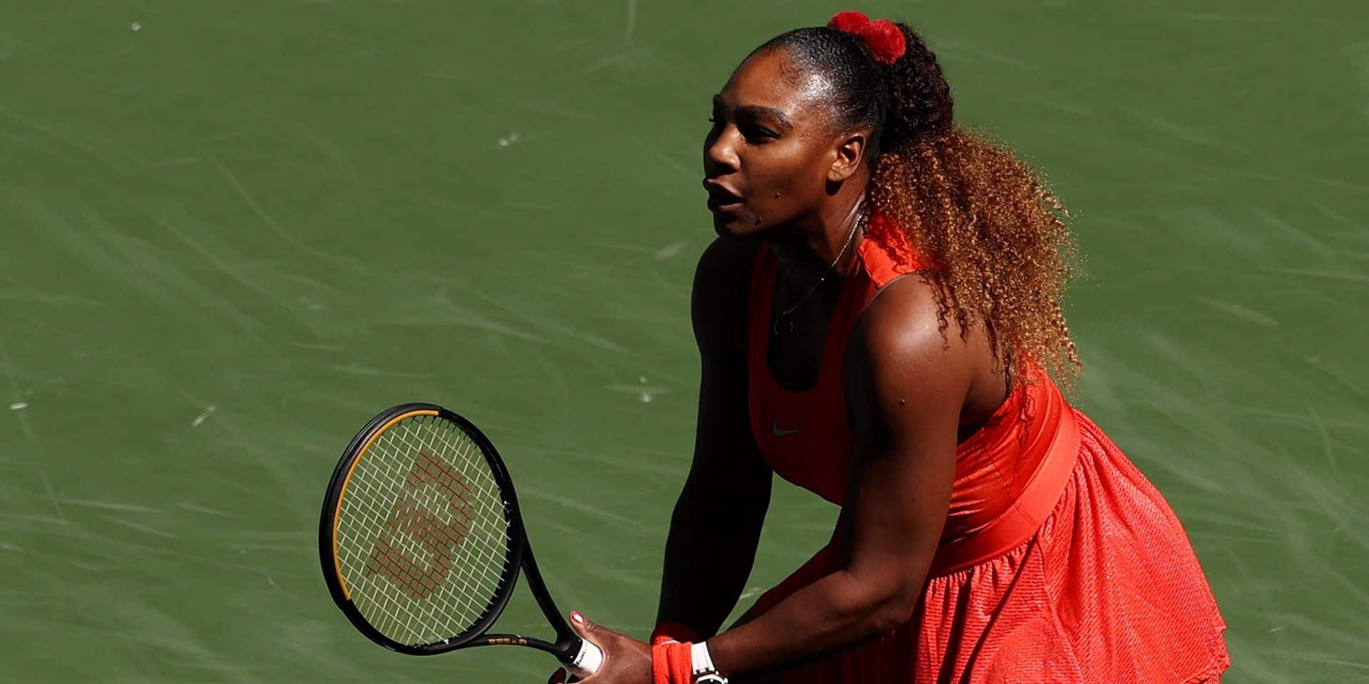 La nuit à l'US Open en un clin d'oeil : Serena poursuit sa mission