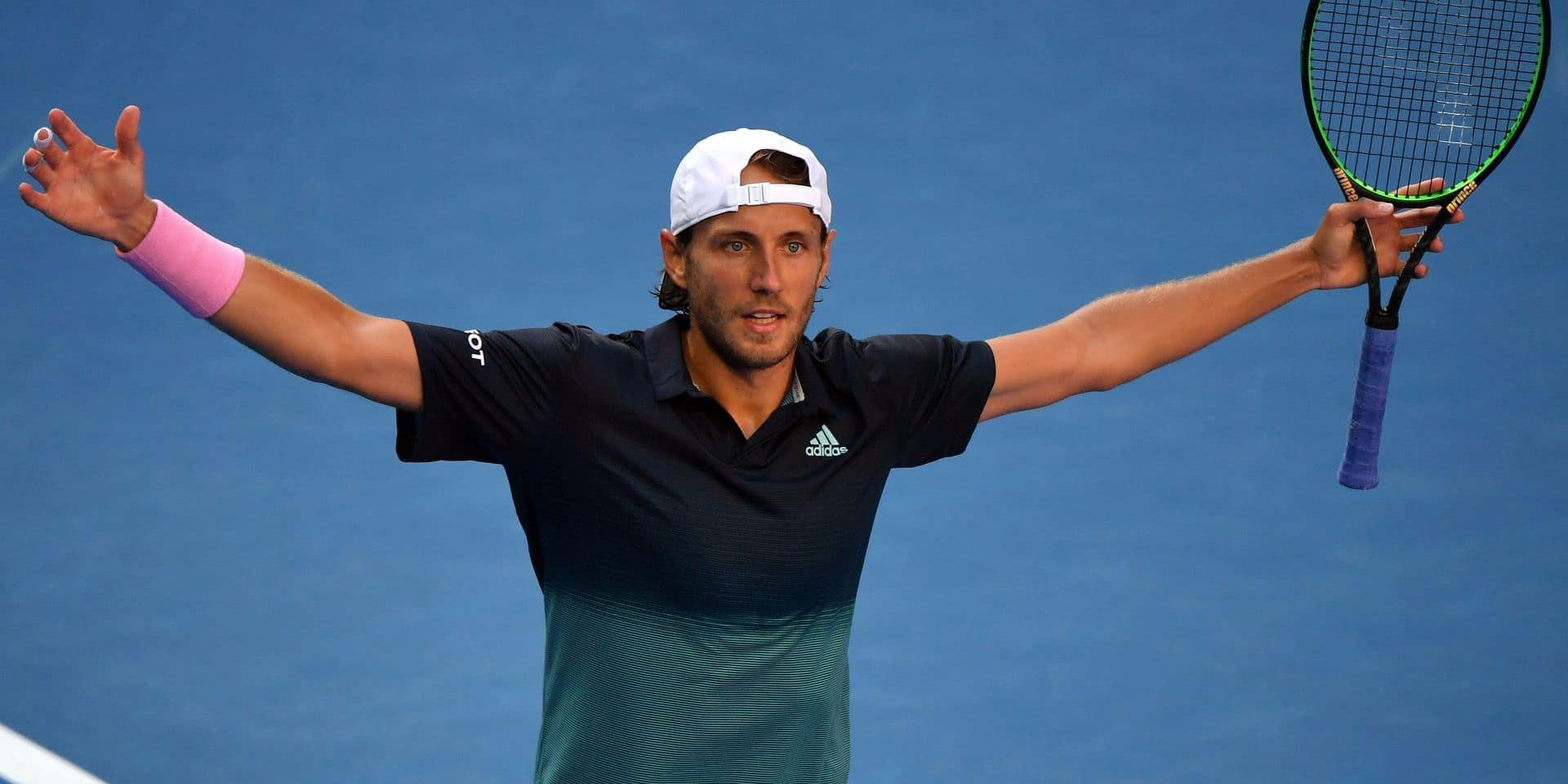 L'exploit de Lucas Pouille à l'Open d'Australie: il s'offre une première demi-finale en Grand Chelem!