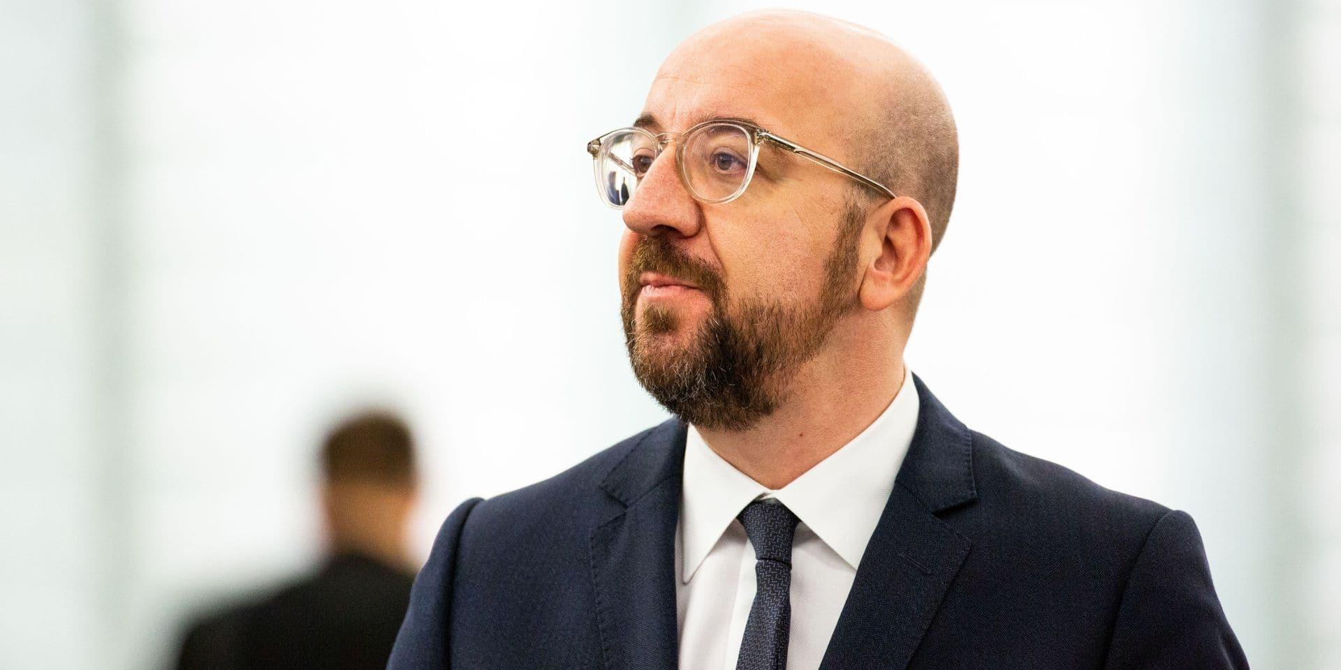 """Charles Michel appelle l'Iran à éviter tout """"acte irréversible"""""""