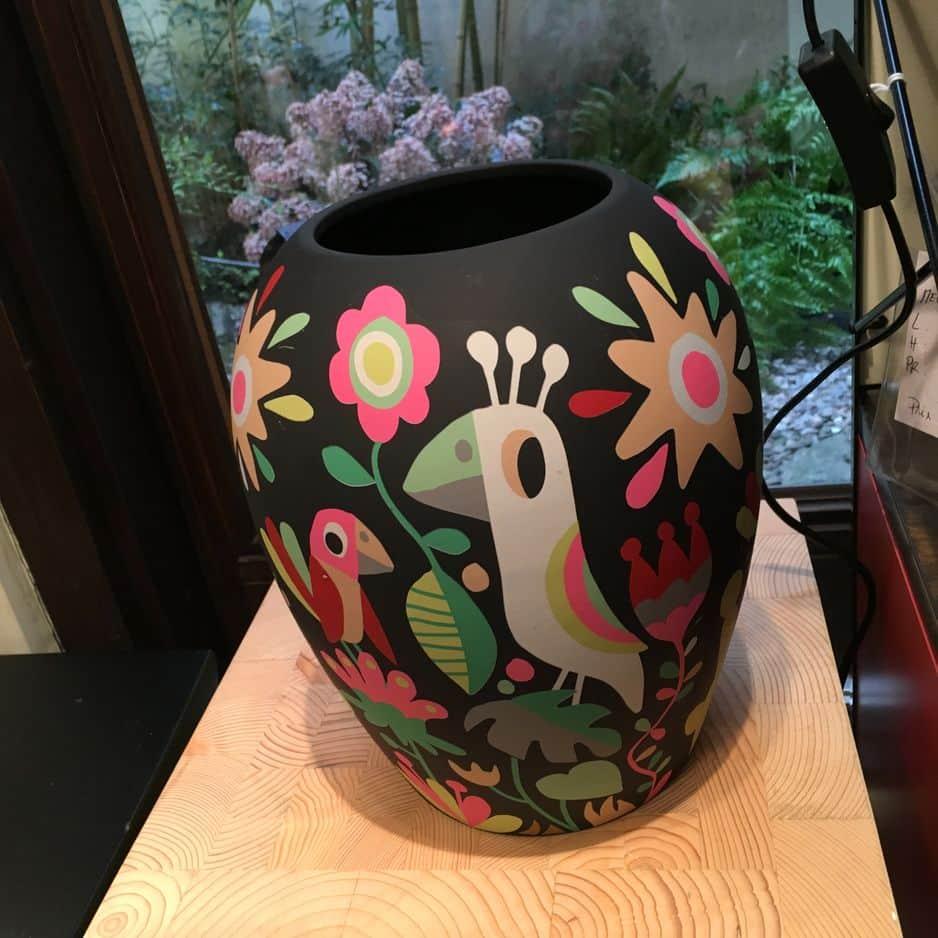 Vase en résine, 49.50€
