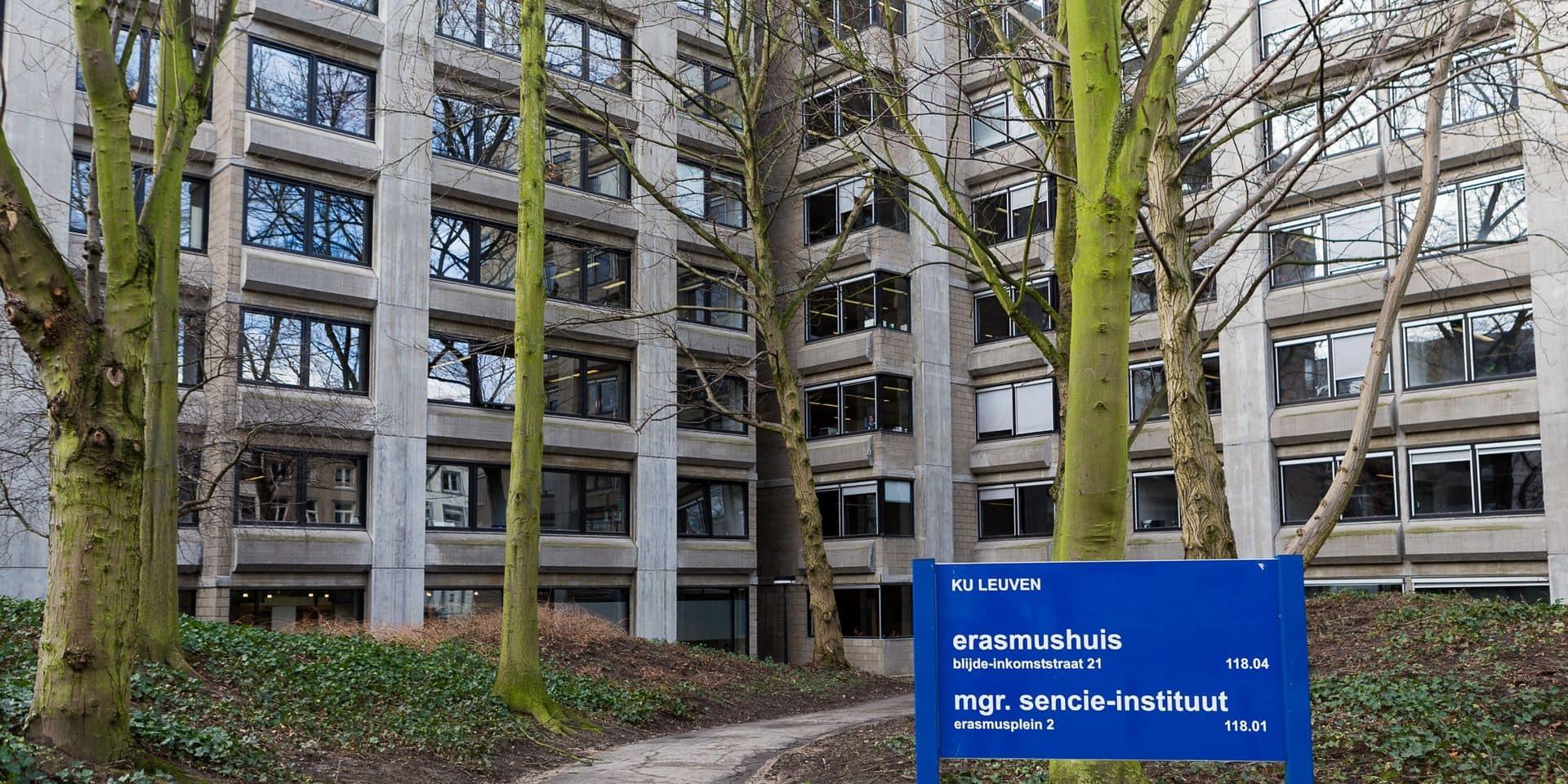 Masque obligatoire sur le campus de la KU Leuven à partir de lundi