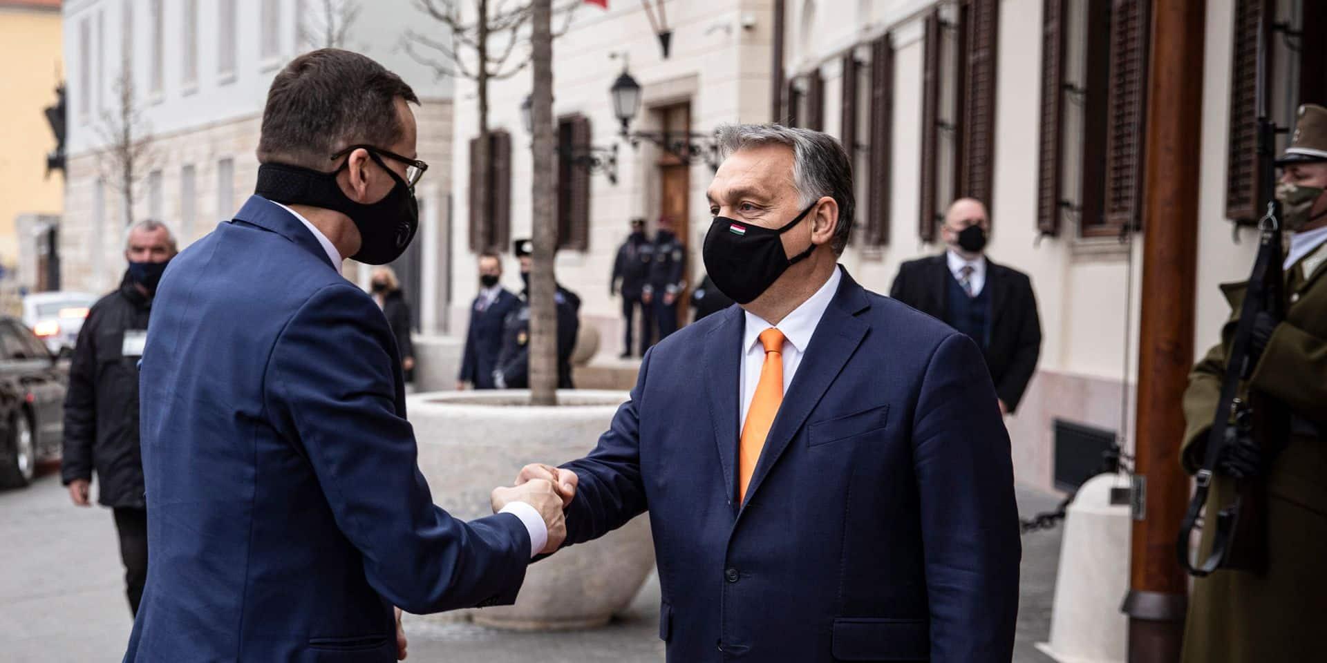 """Orban compte sur un accord et sur la """"victoire polono-hongroise"""""""