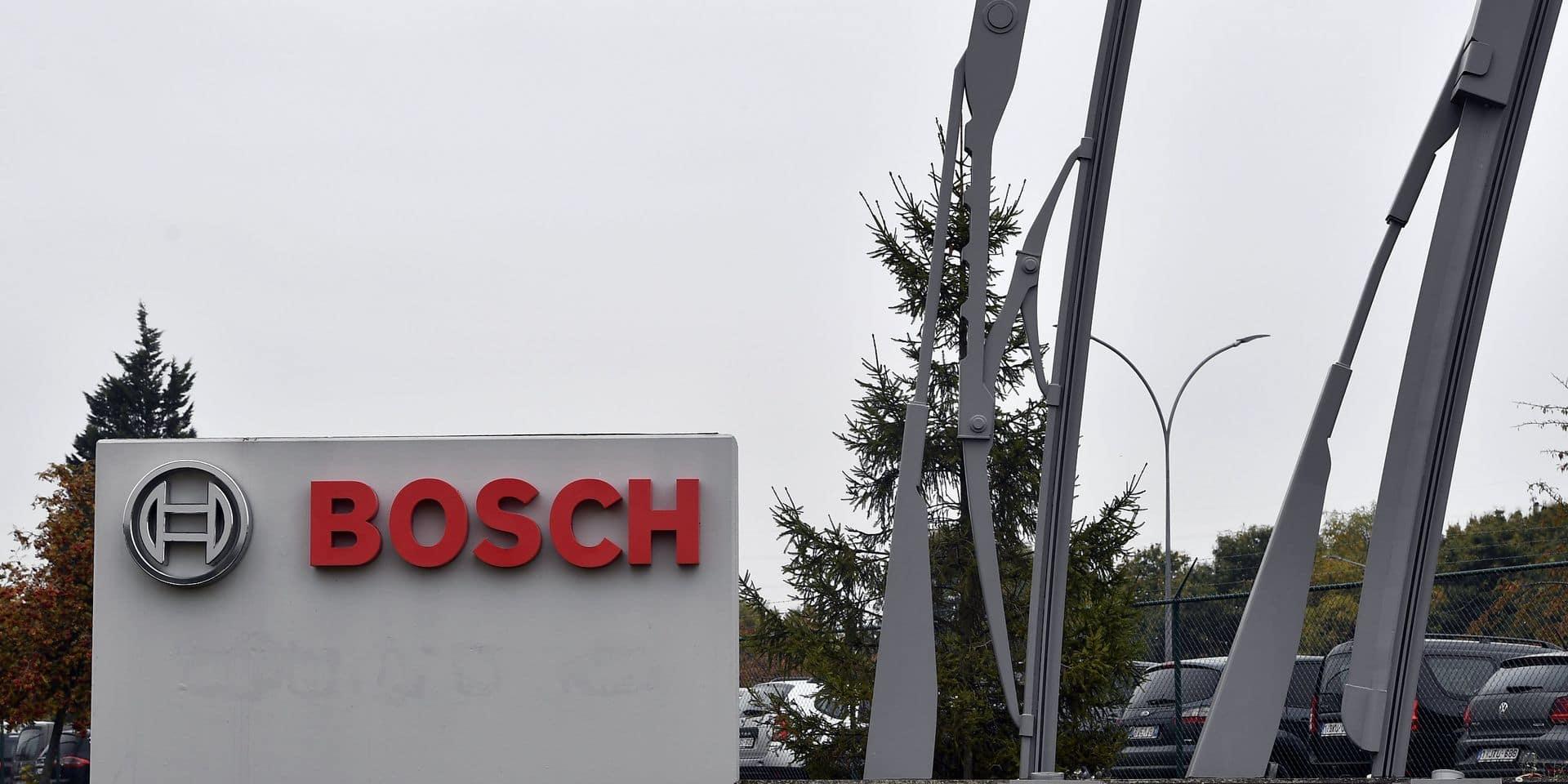 Bosch va licencier 400 personnes dans son usine de Tirlemont