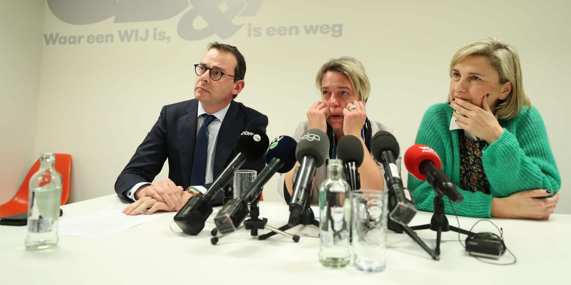 Sous le feu des critiques, la ministre Schauvliege démissionne