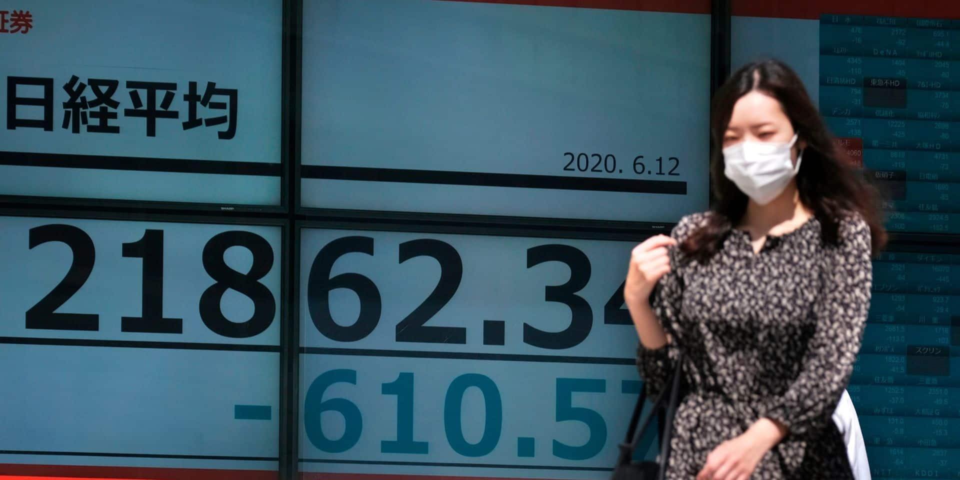 Les Bourses asiatiques terminent en ordre dispersé