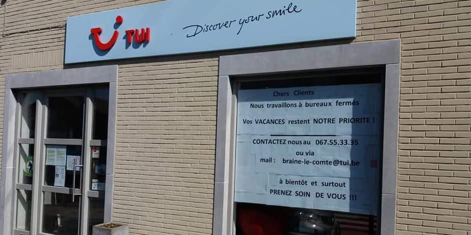 """Manager d'une agence de voyage à Braine-le-Comte, André-Paul est désarmé : """"On perd parfois 5.000 euros par jour"""""""