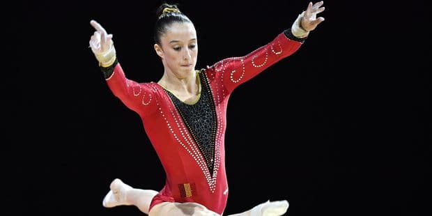 Glasgow 2018: deux médailles pour la gymnaste Nina Derwael - La Libre
