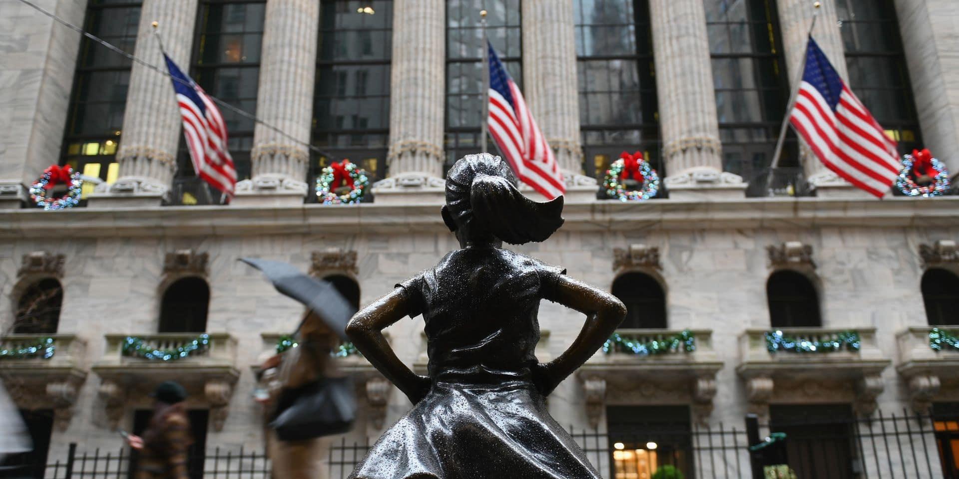 Solide hausse au départ de Wall Street après son meilleur mois depuis 1987