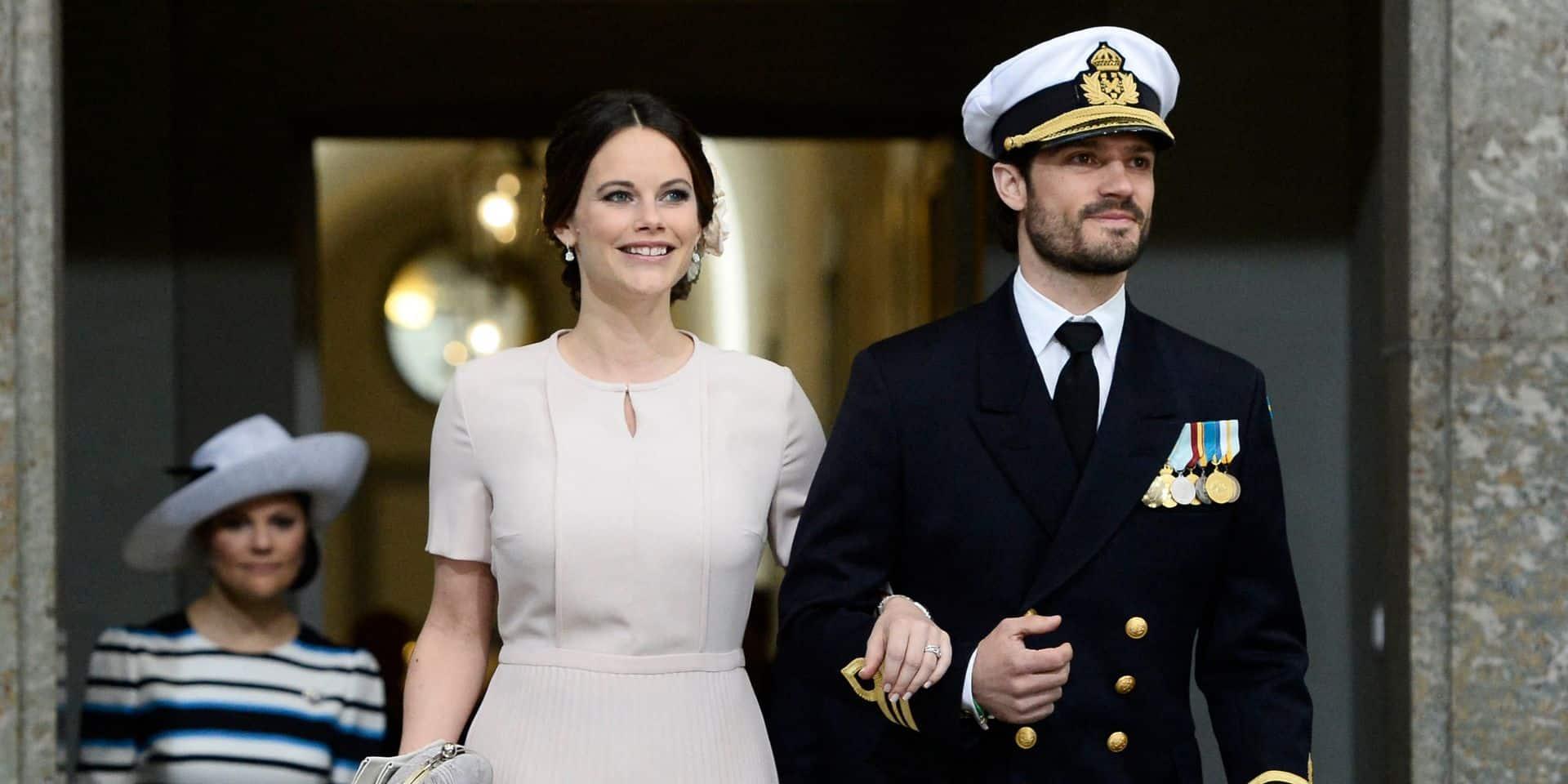 Voici la première photo du prince Julian, le fils de Carl Philip et Sofia de Suède