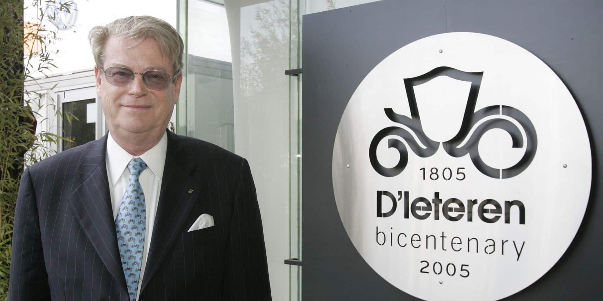 Roland D'Ieteren (1942-2020), au-delà du capitaine d'industrie