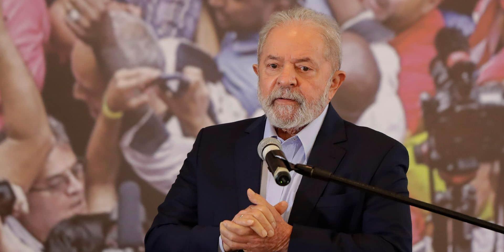 """Au Brésil, Lula parle du """"plus gros génocide"""" de l'histoire du pays"""