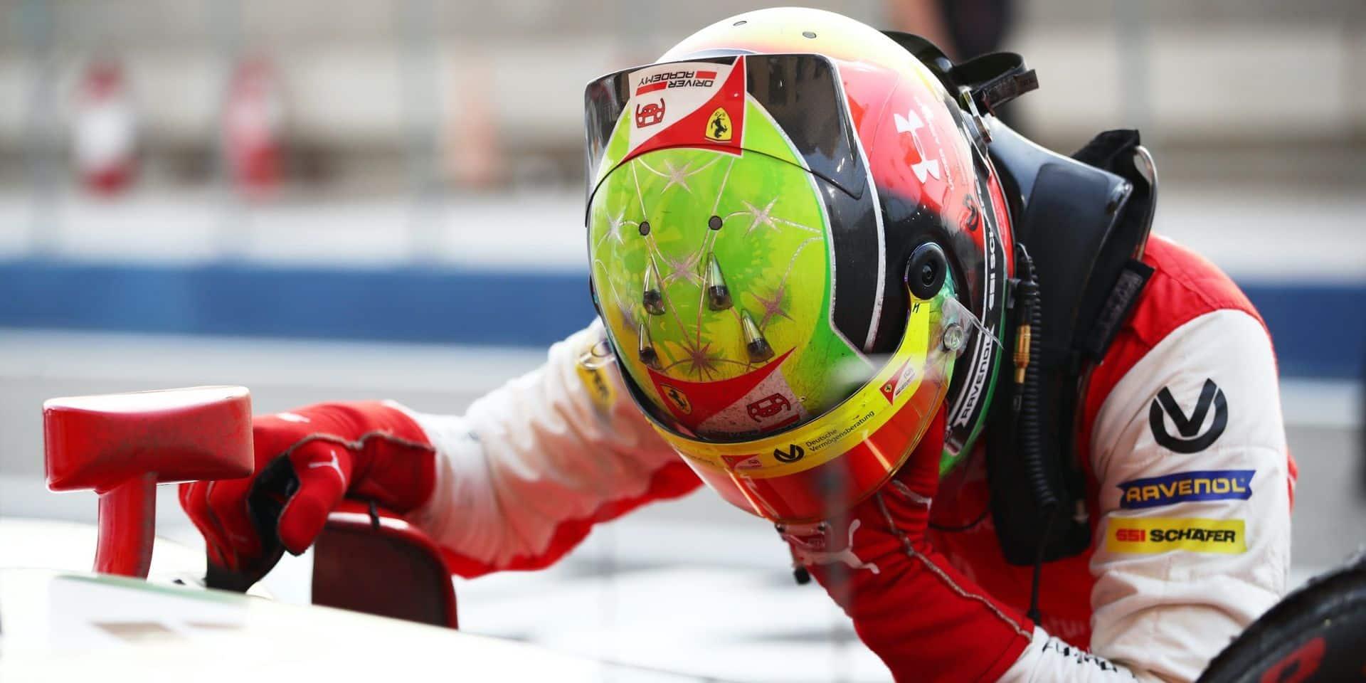 Mick Schumacher sacré champion 2020 de Formule 2