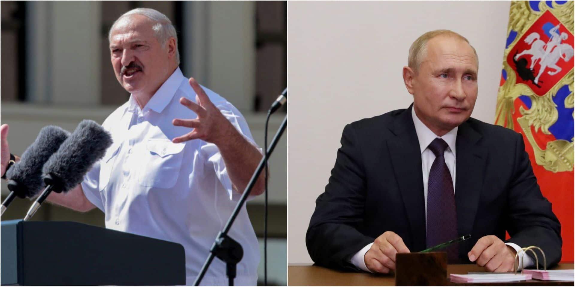 Biélorussie: le président Loukachenko rencontrera Poutine lundi