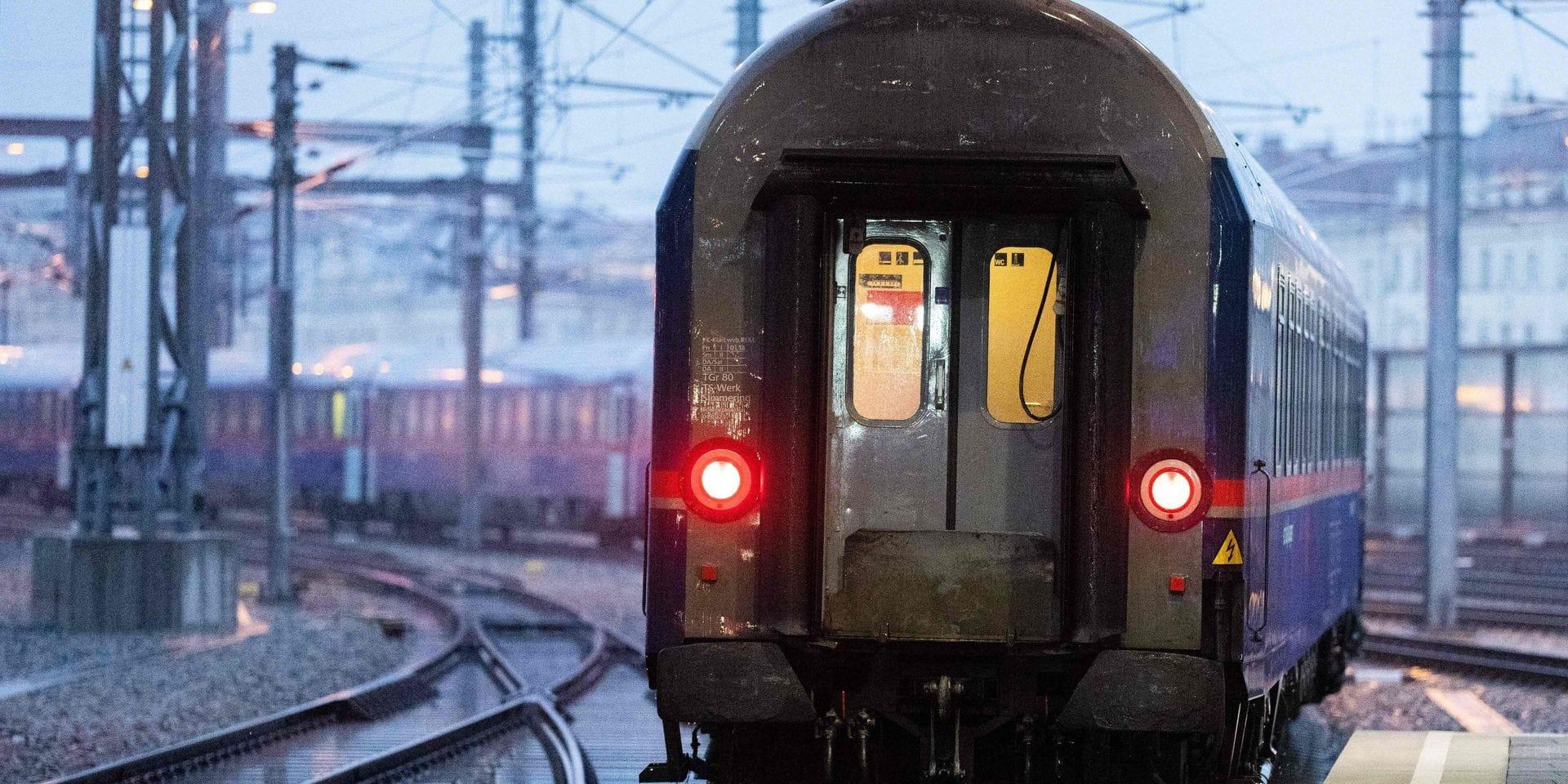 Le train de nuit entre la Belgique et l'Autriche reprend du service ce mardi