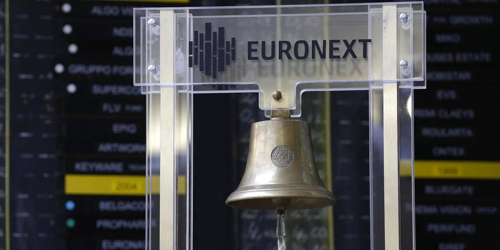 Les Bourses européennes en recul à la clôture, à l'exception du Bel 20