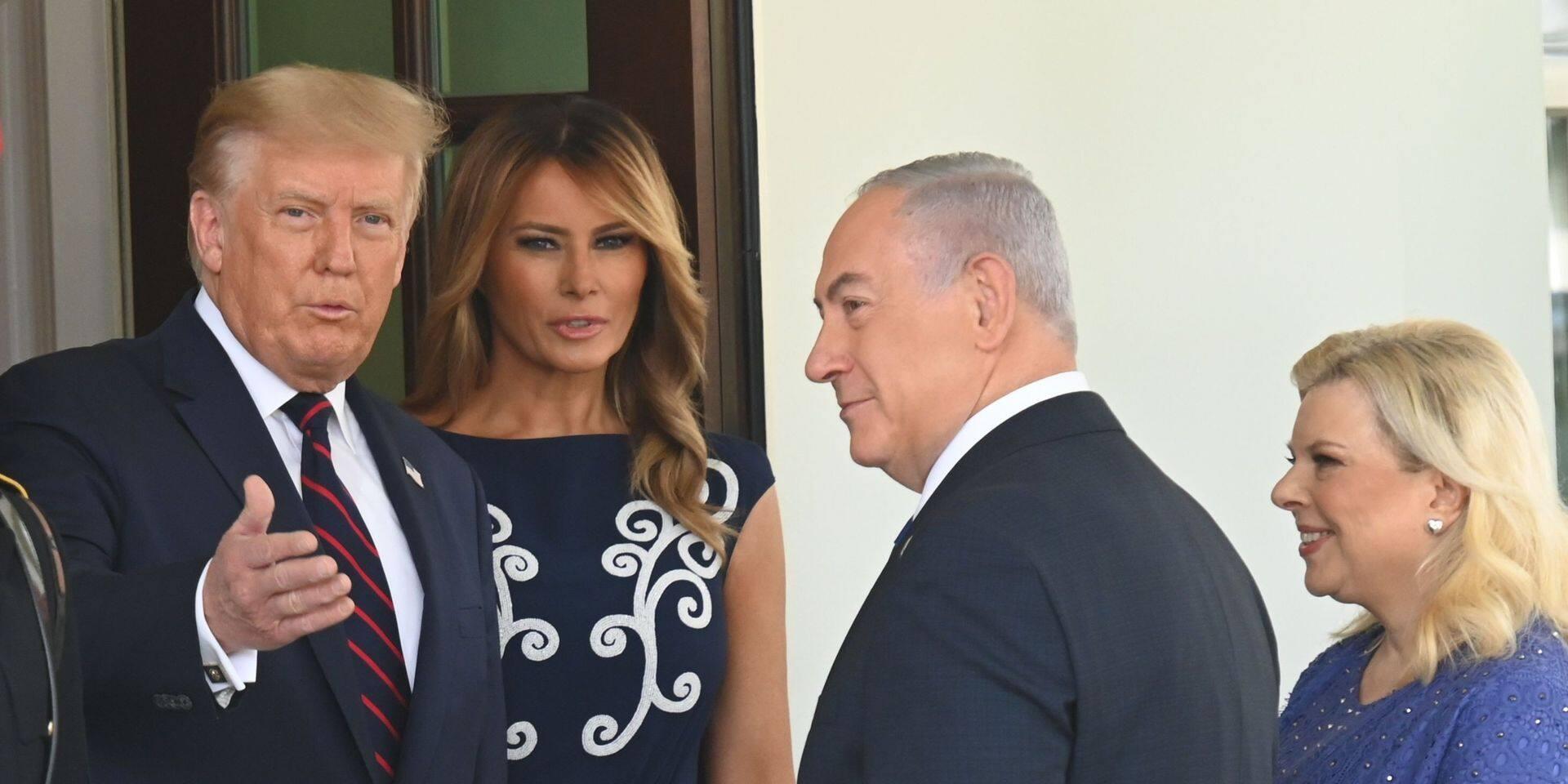 """Trump affirme que """"cinq ou six pays"""" arabes vont """"bientôt"""" signer des accords avec Israël"""