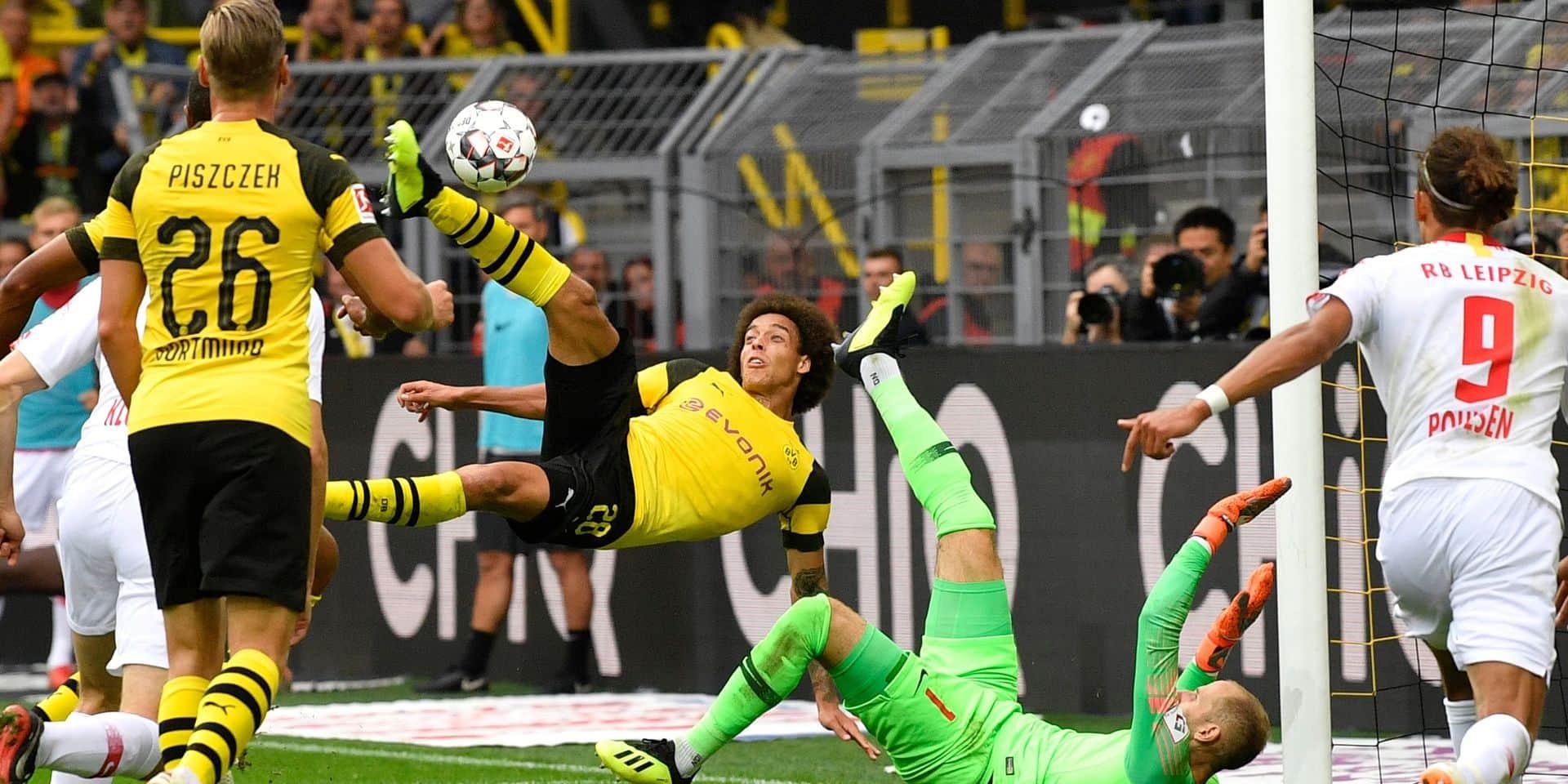 Les Belges à l'étranger: Hazard convertit un penalty contre Newcastle, Witsel s'offre un but magnifique contre le RB Leipzig (VIDEO)