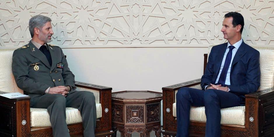 Macron juge la situation alarmante, contre un maintien d'Assad — Syrie