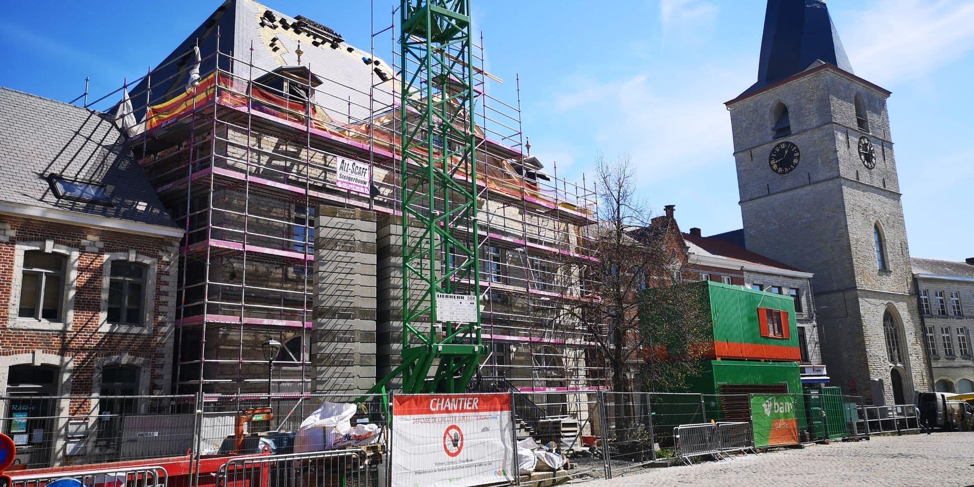 Après des années de galère, l'Hôtel des Libertés à Jodoigne est bientôt libéré