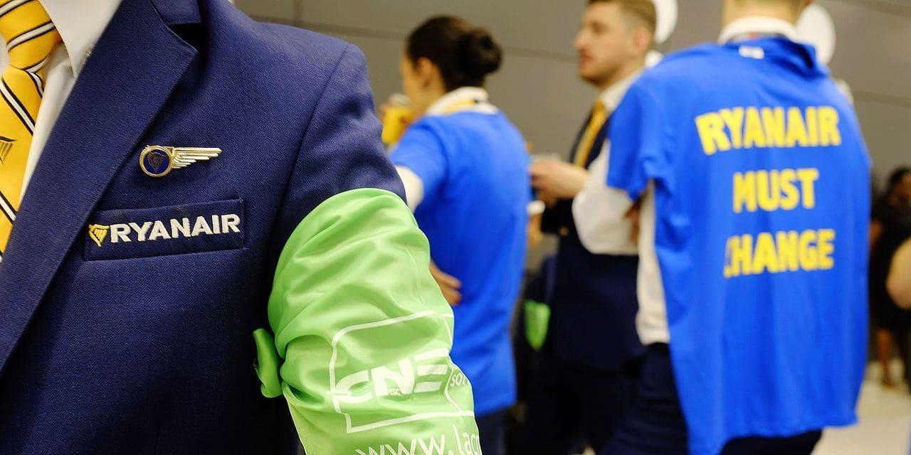 Ryanair: les syndicats belges pourraient aller en justice contre la compagnie
