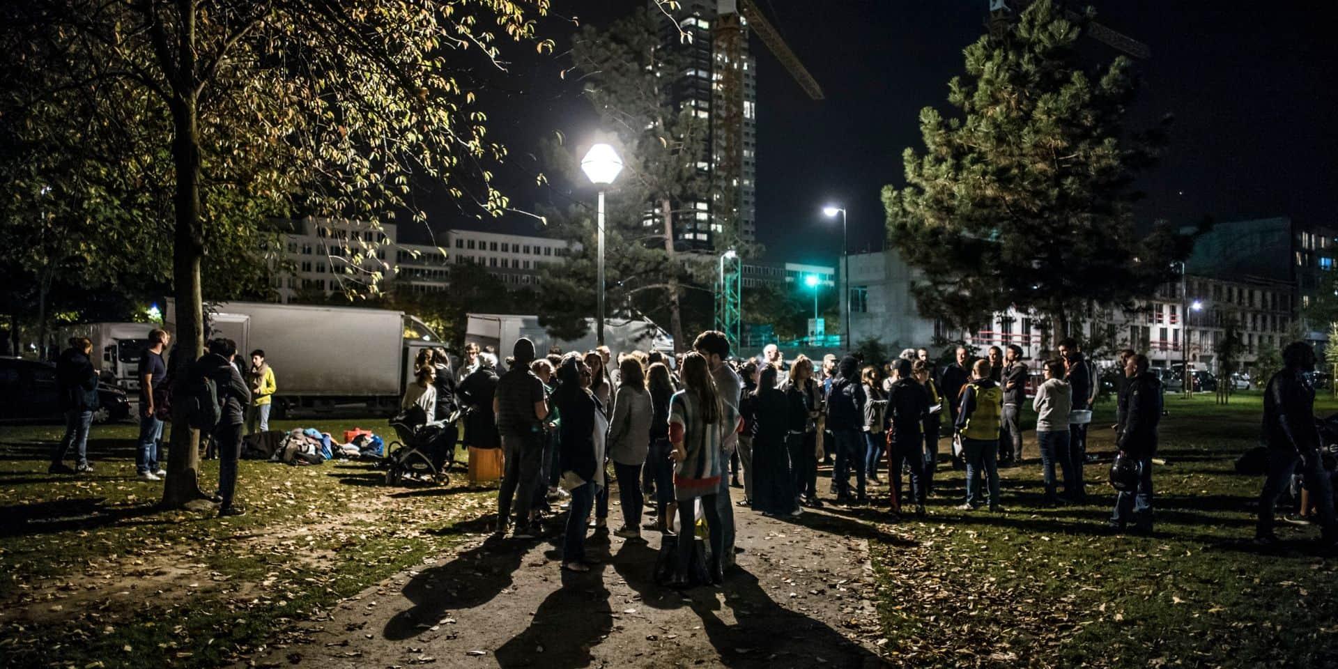 Plus de 500 migrants de retour au parc Maximilien dès le 21 septembre...