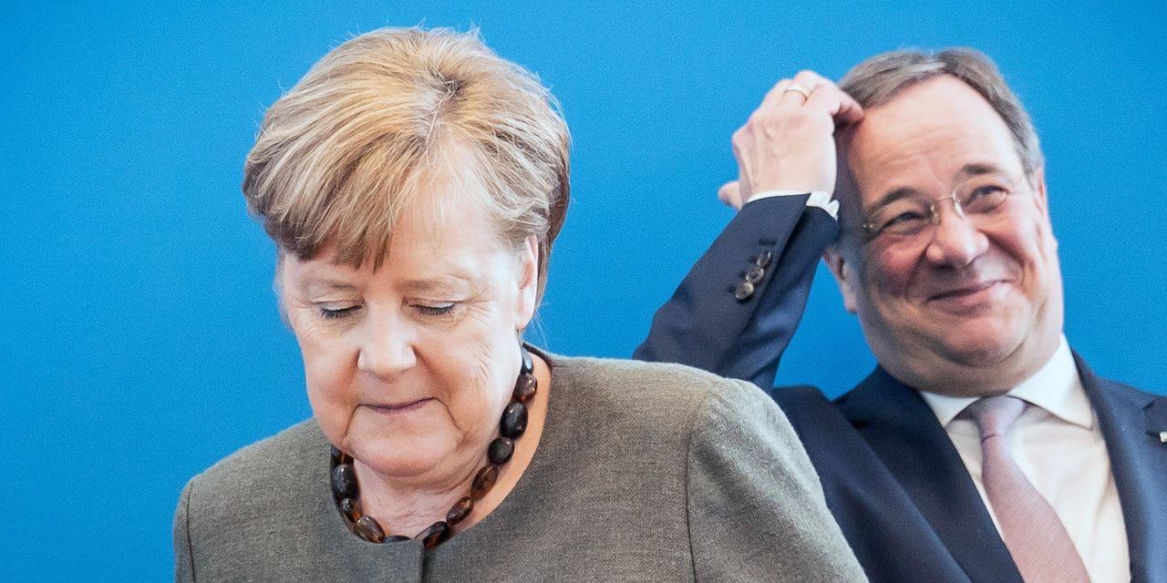 Après l'élection d'Armin Laschet à la tête de la CDU, la succession de Merkel reste ouverte en Allemagne