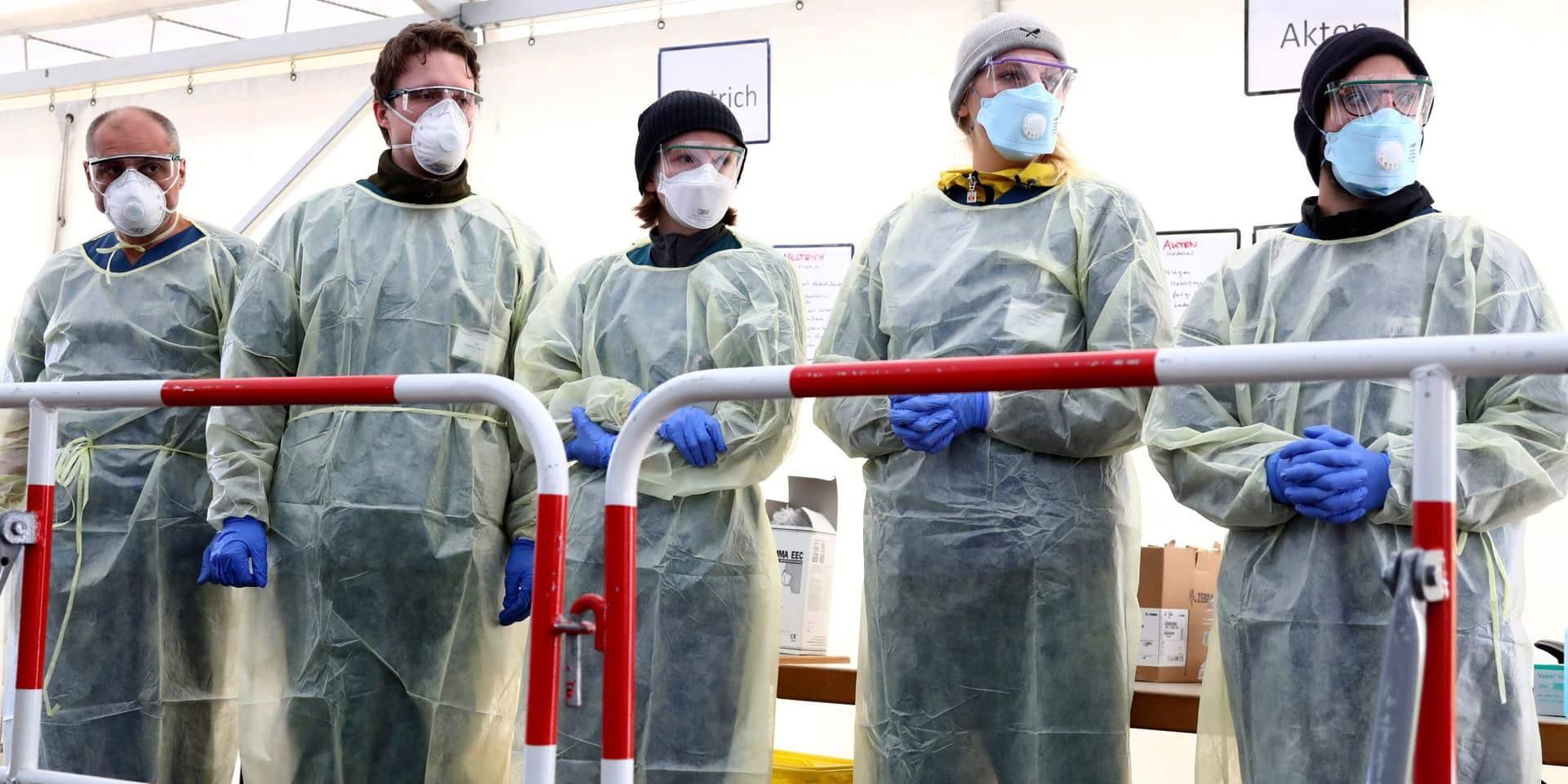 Coronavirus: l'Allemagne prolonge ses mesures de restriction, 500 morts en 24h au Royaume-Uni, 134 nouveaux décès aux Pays-Bas