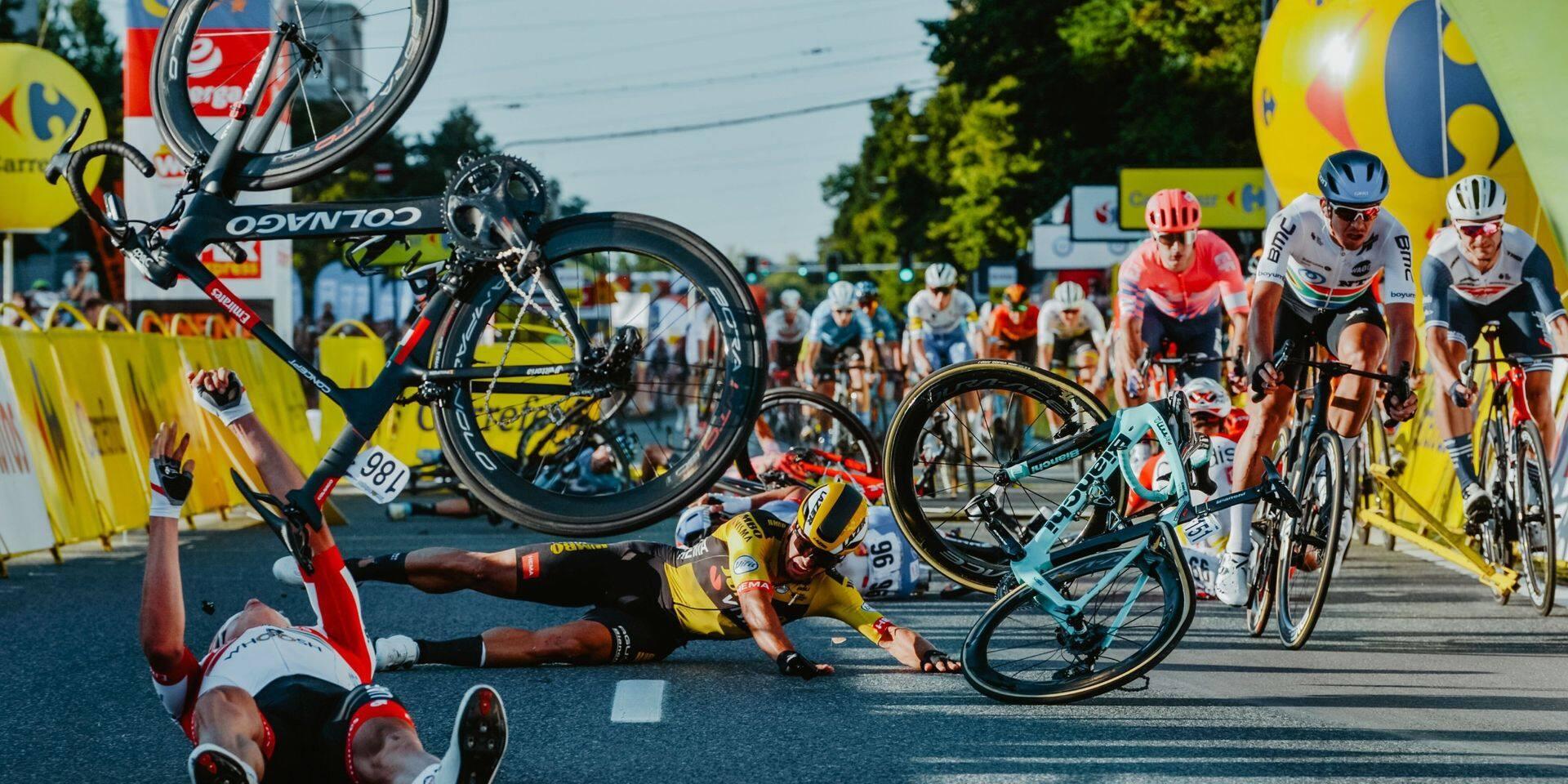 Fabio Jakobsen a été sorti de son coma après sa lourde chute au Tour de Pologne
