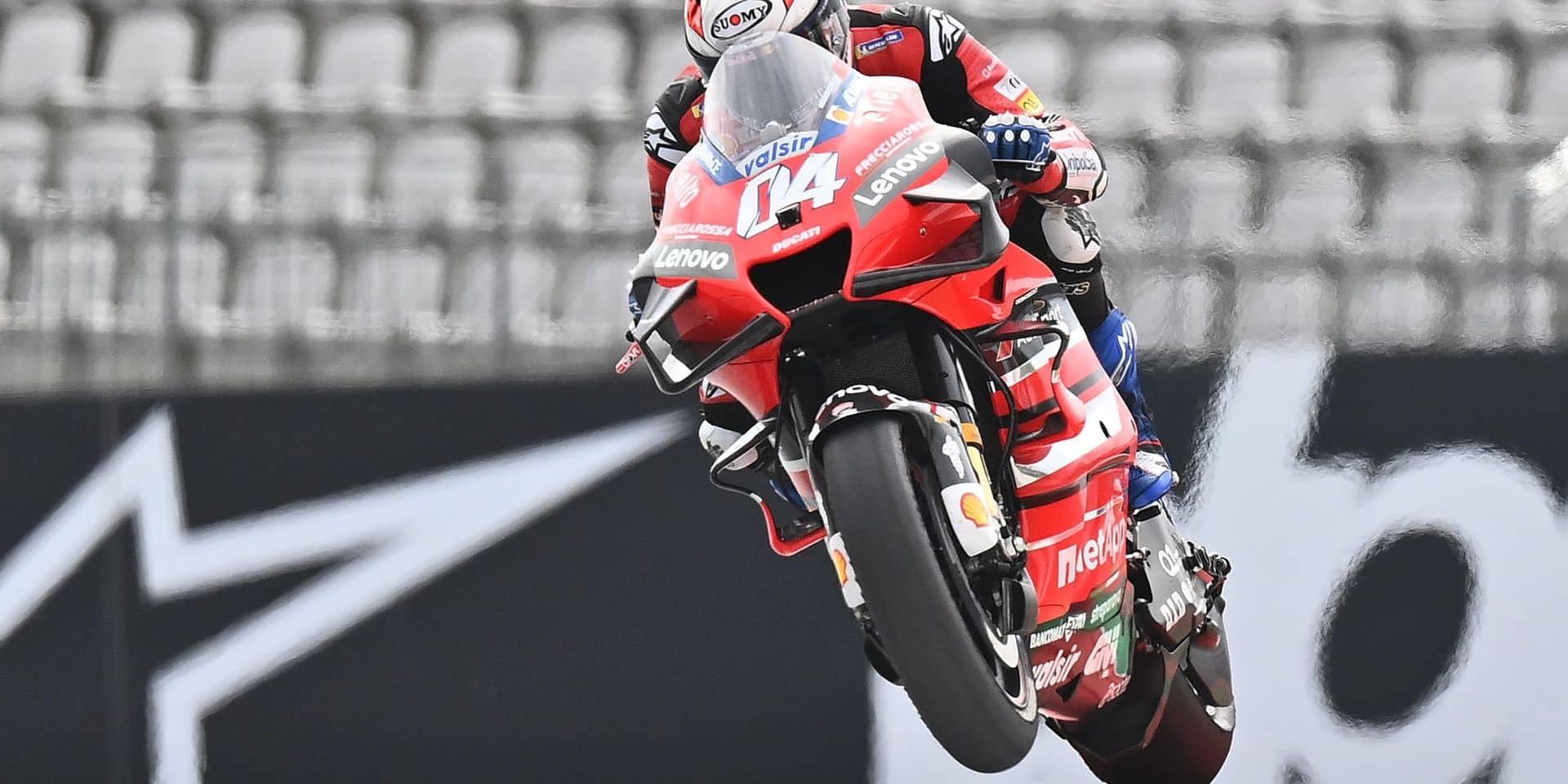 MotoGP: Andrea Dovizioso quittera Ducati à la fin de la saison