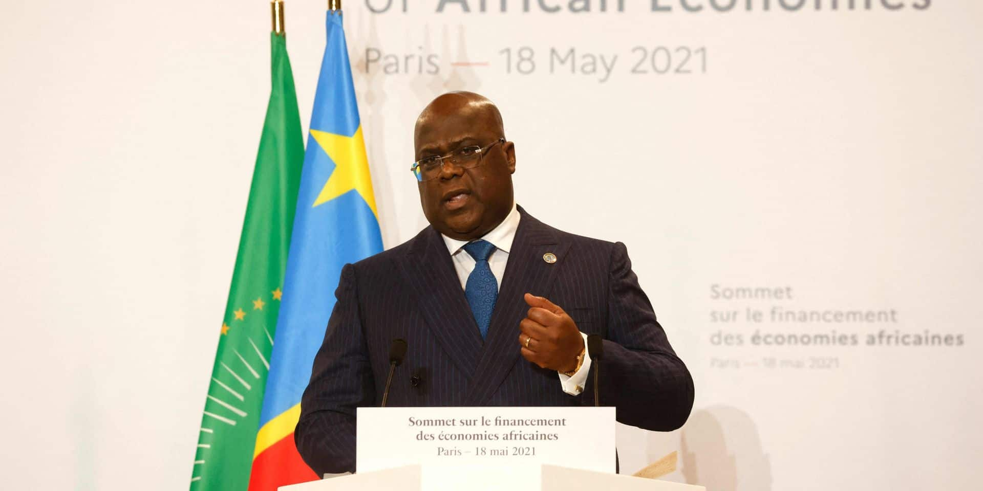 """Crimes en RDC: en pleine polémique sur des propos de Kagame, Tshisekedi demande """"justice"""""""