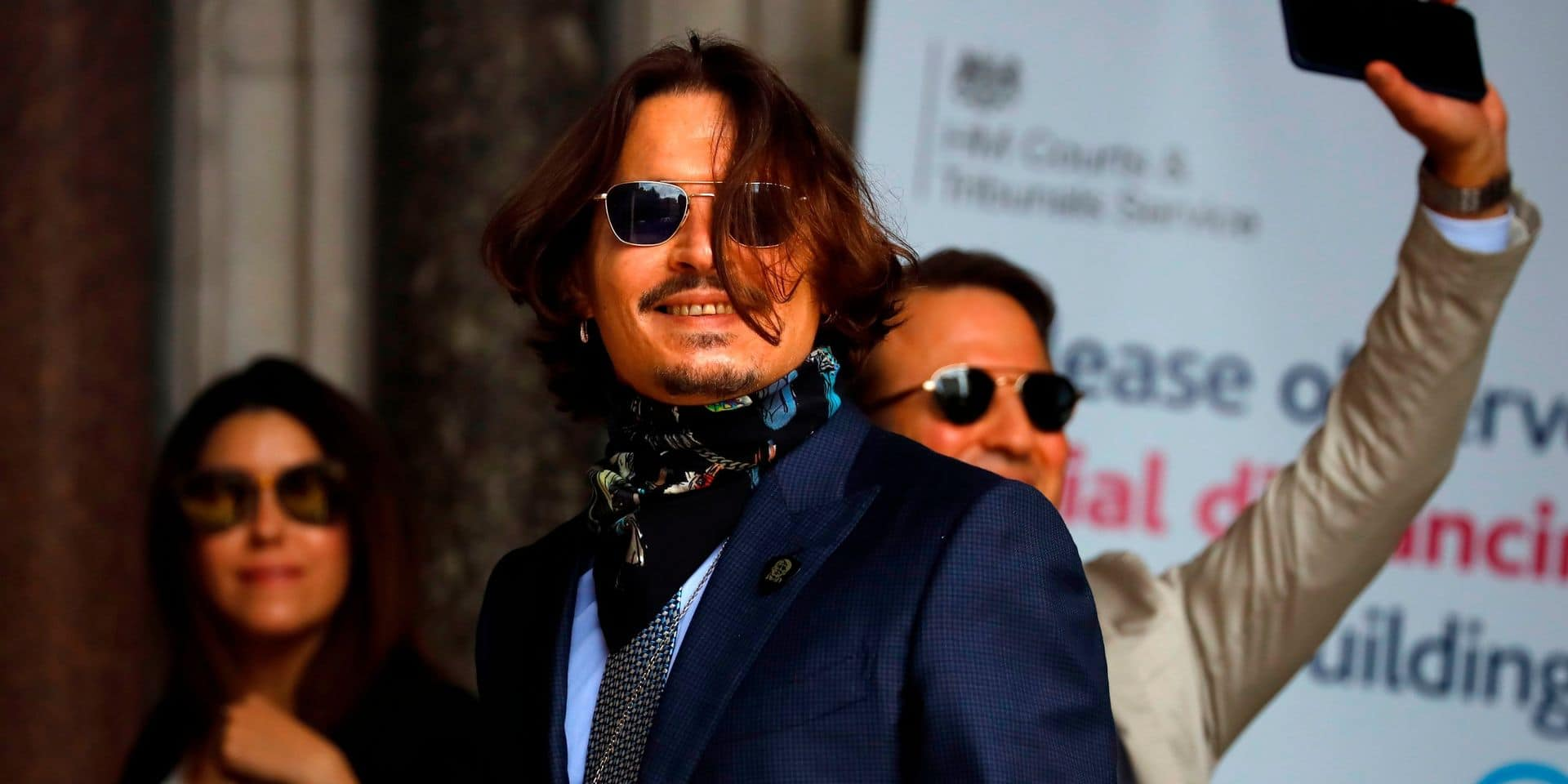 Les avocats de Johnny Depp sortent une preuve de dernière minute censée attester la violence d'Amber Heard